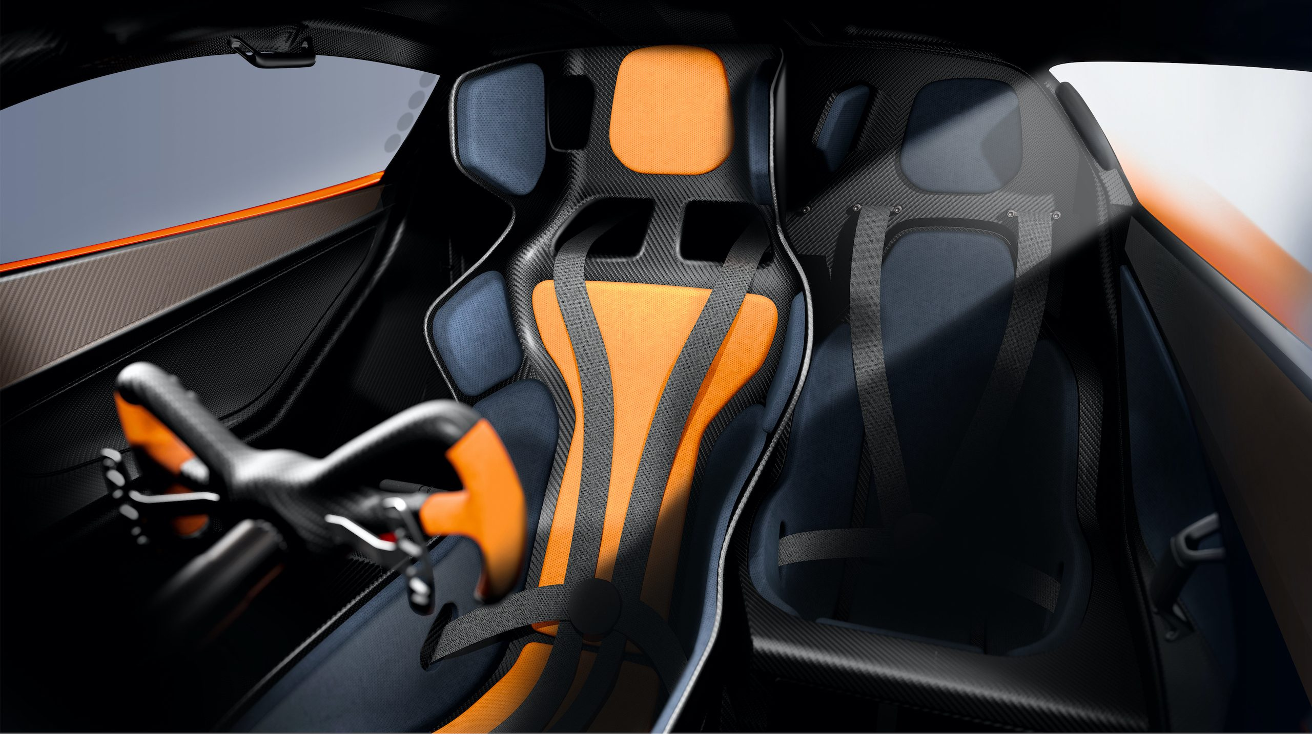 GMA T50s interior cockpit seat