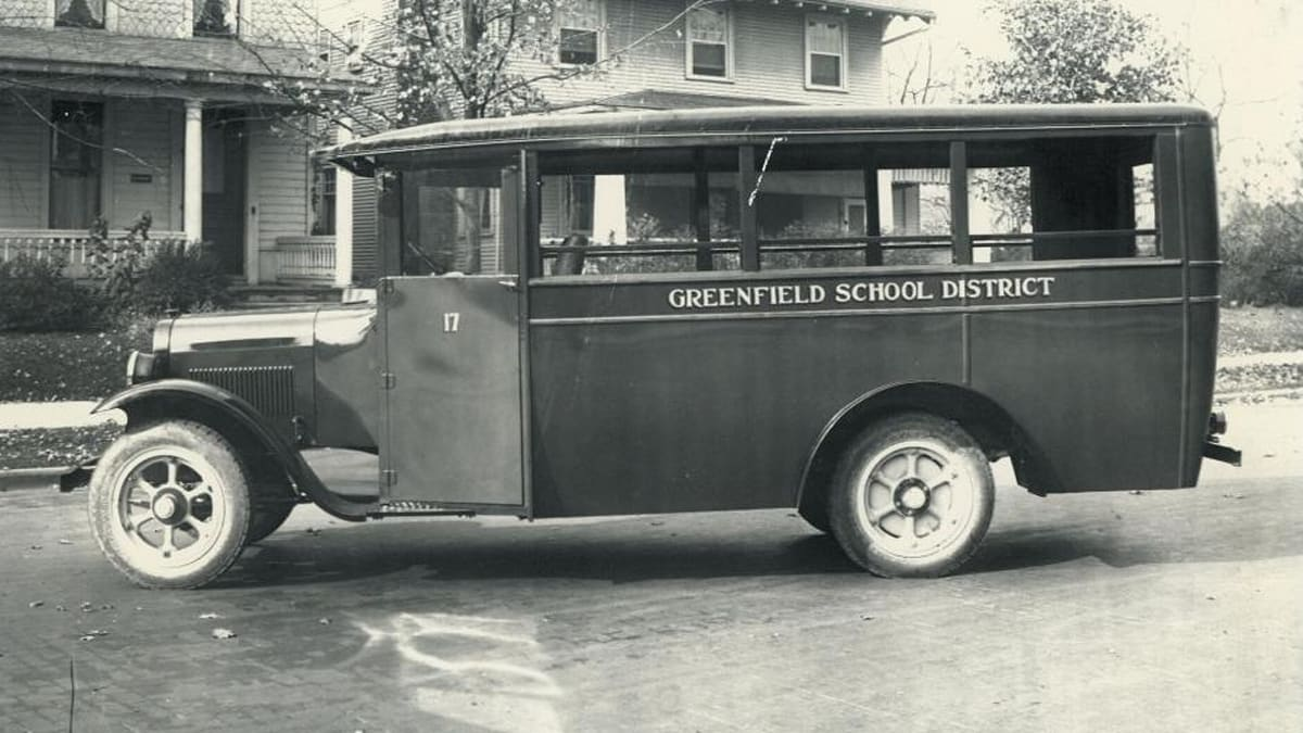 greenfield bus side profile