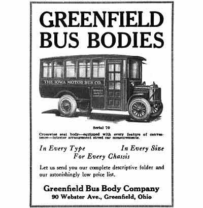 Greenfield Bus Bodies advert
