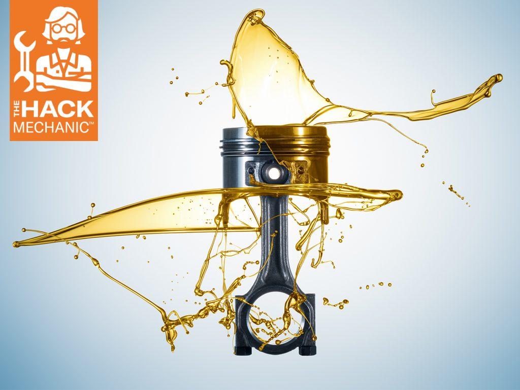oil piston splash