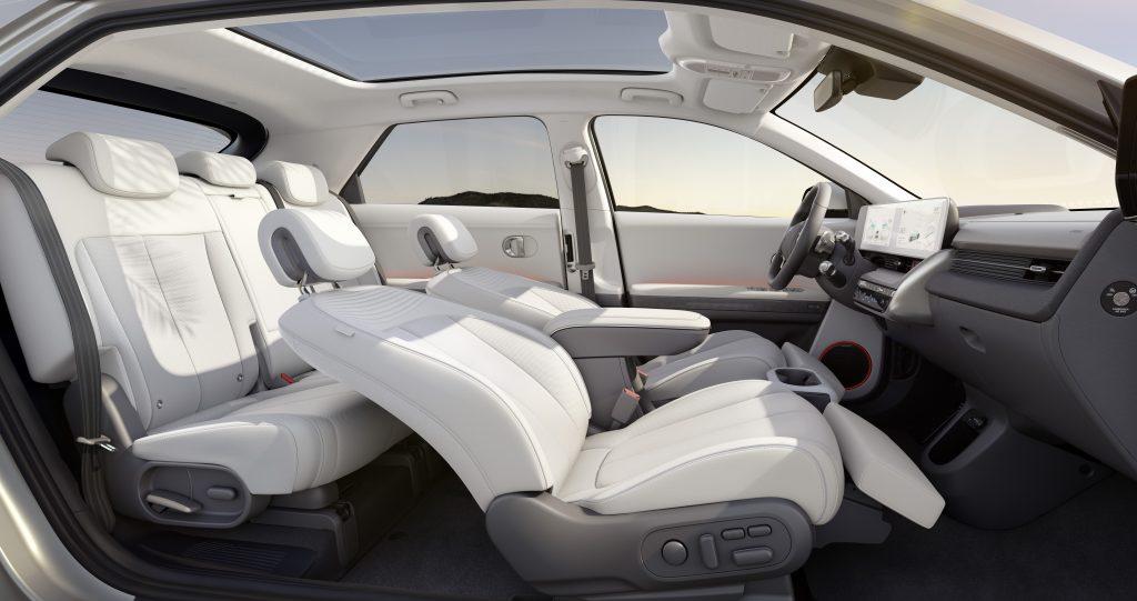 Hyundai IONIQ 5 reclining front seats