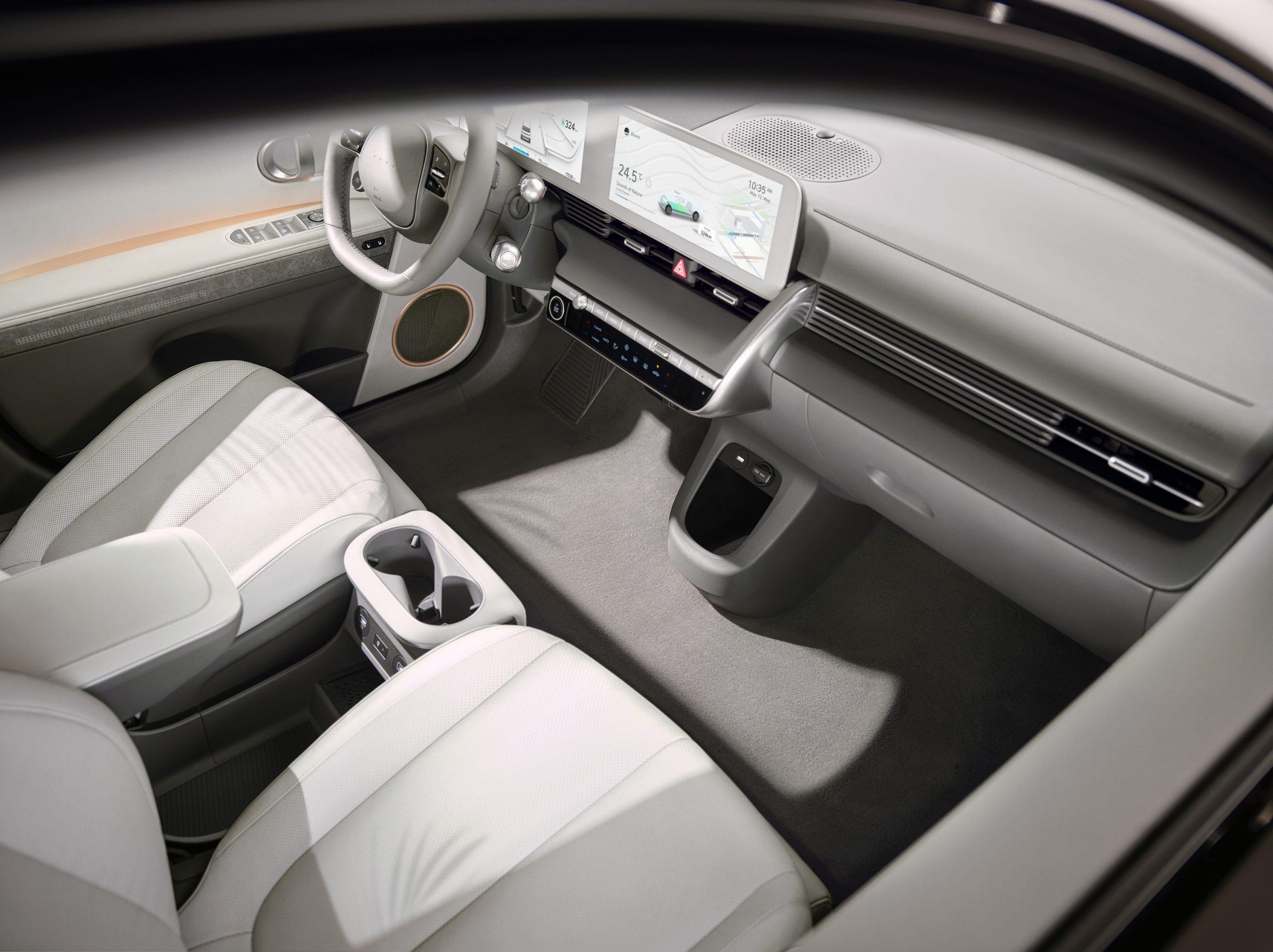 Hyundai IONIQ 5 seats and dashboard