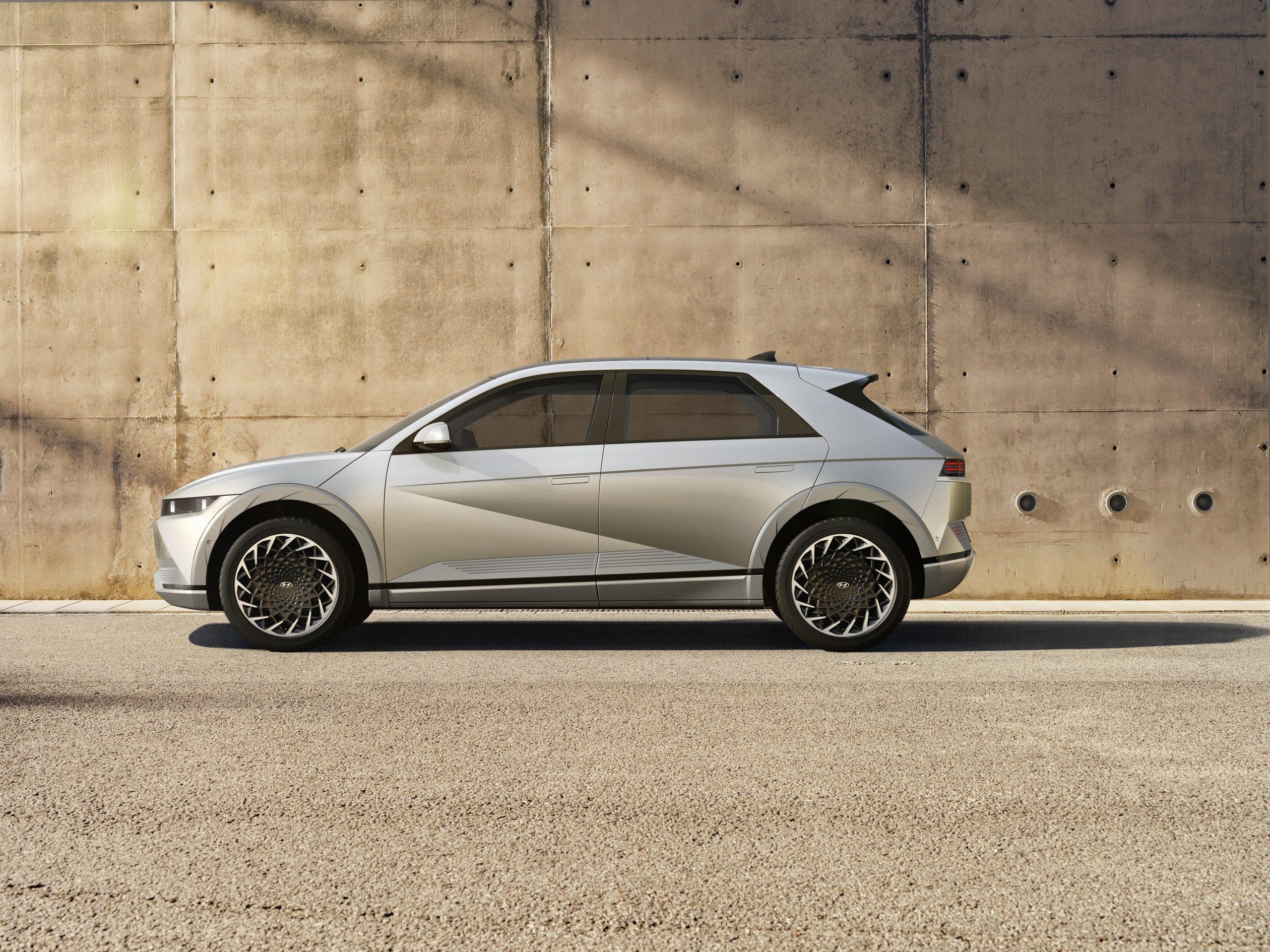 Hyundai IONIQ 5 hero side profile