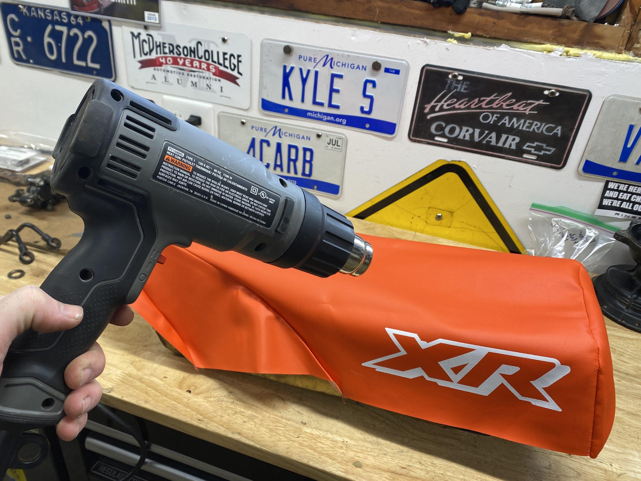 heat gun Xr250 seat