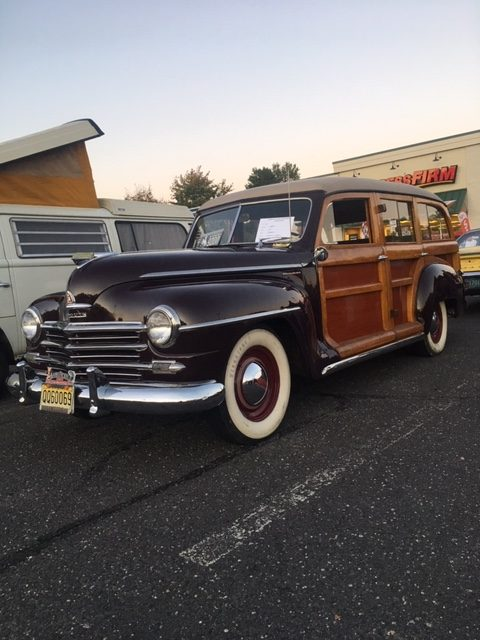 1947 Plymouth woodie wagon