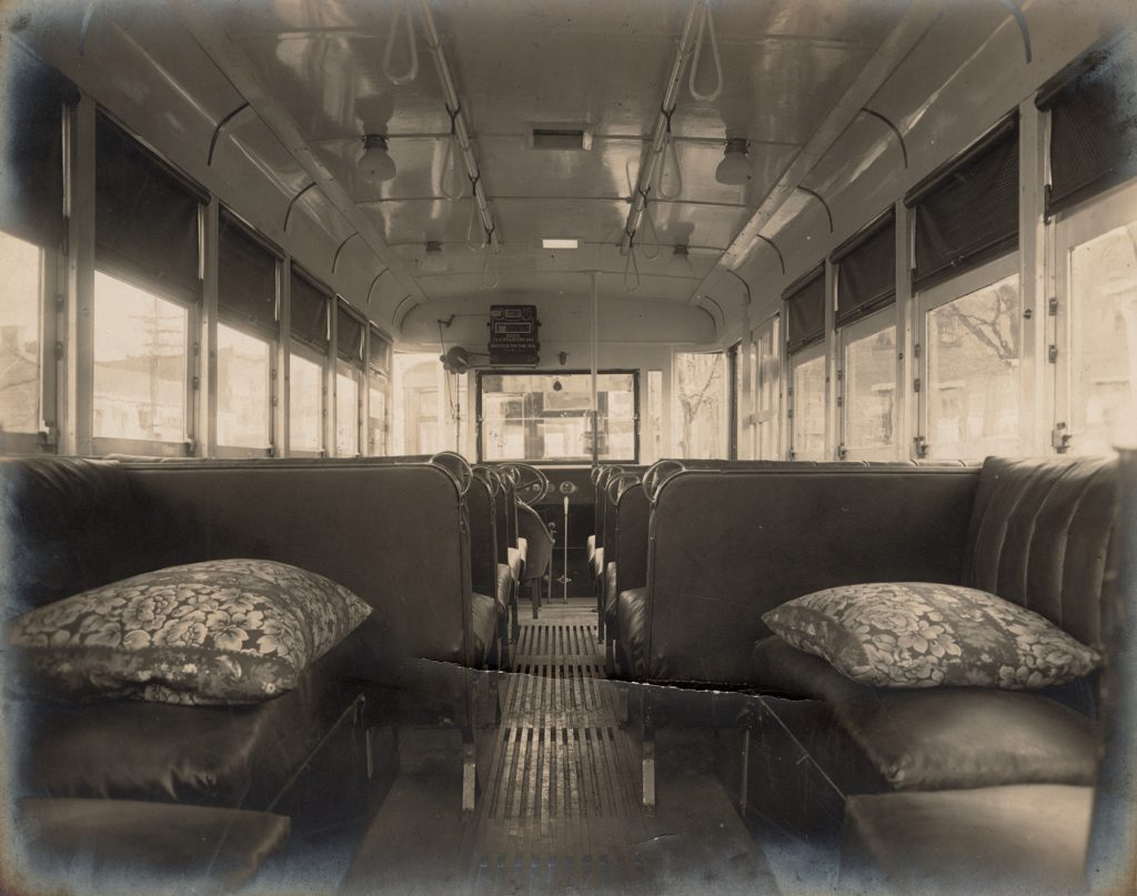 Interior View Greenfield Bus