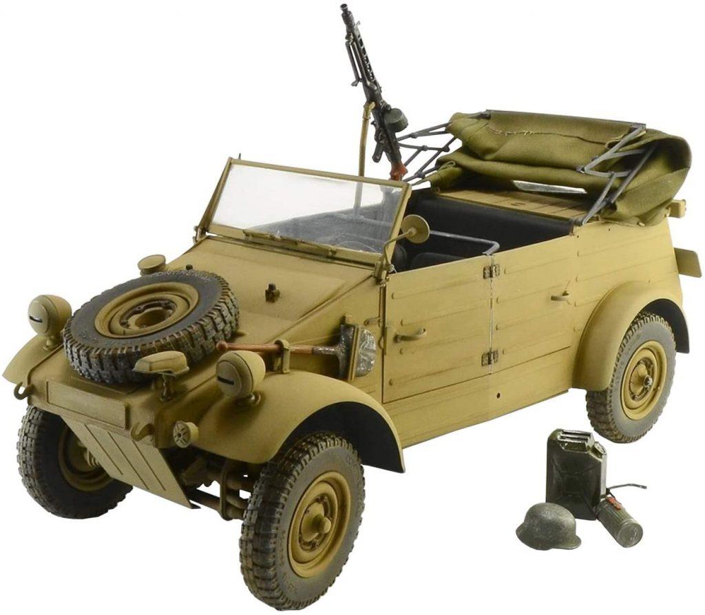 Kubelwagen scale model front three-quarter