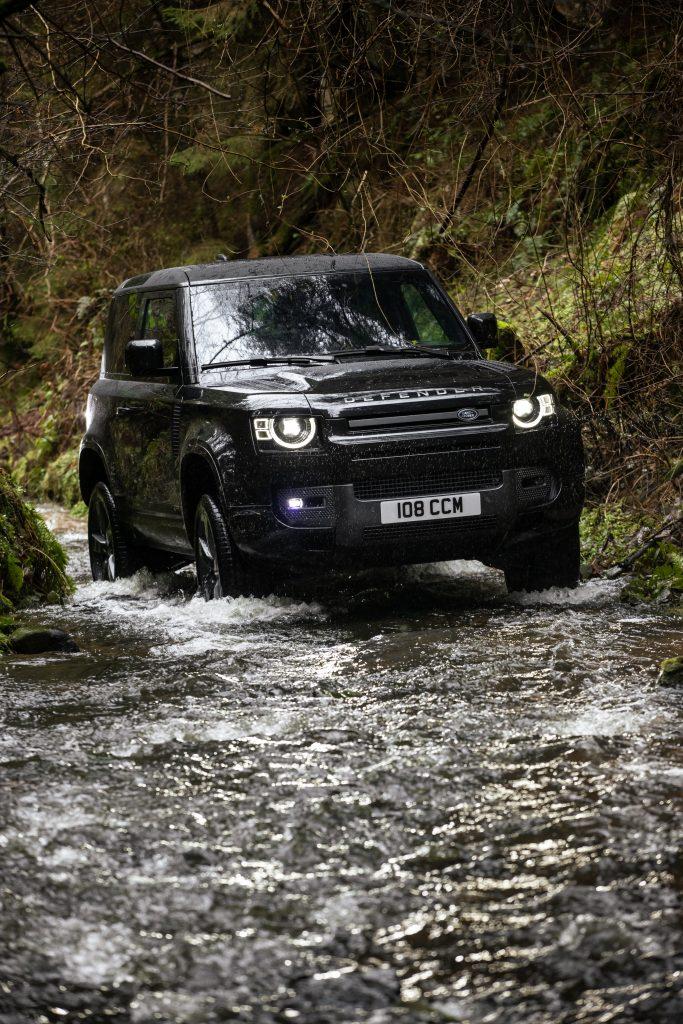 2022 Land Rover Defender front fording