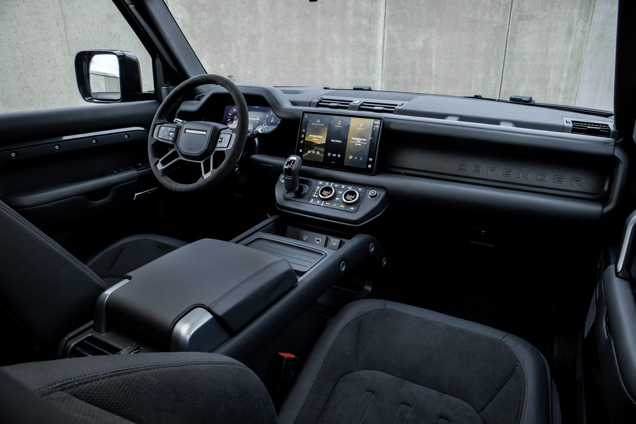 2022 Land Rover Defender interior