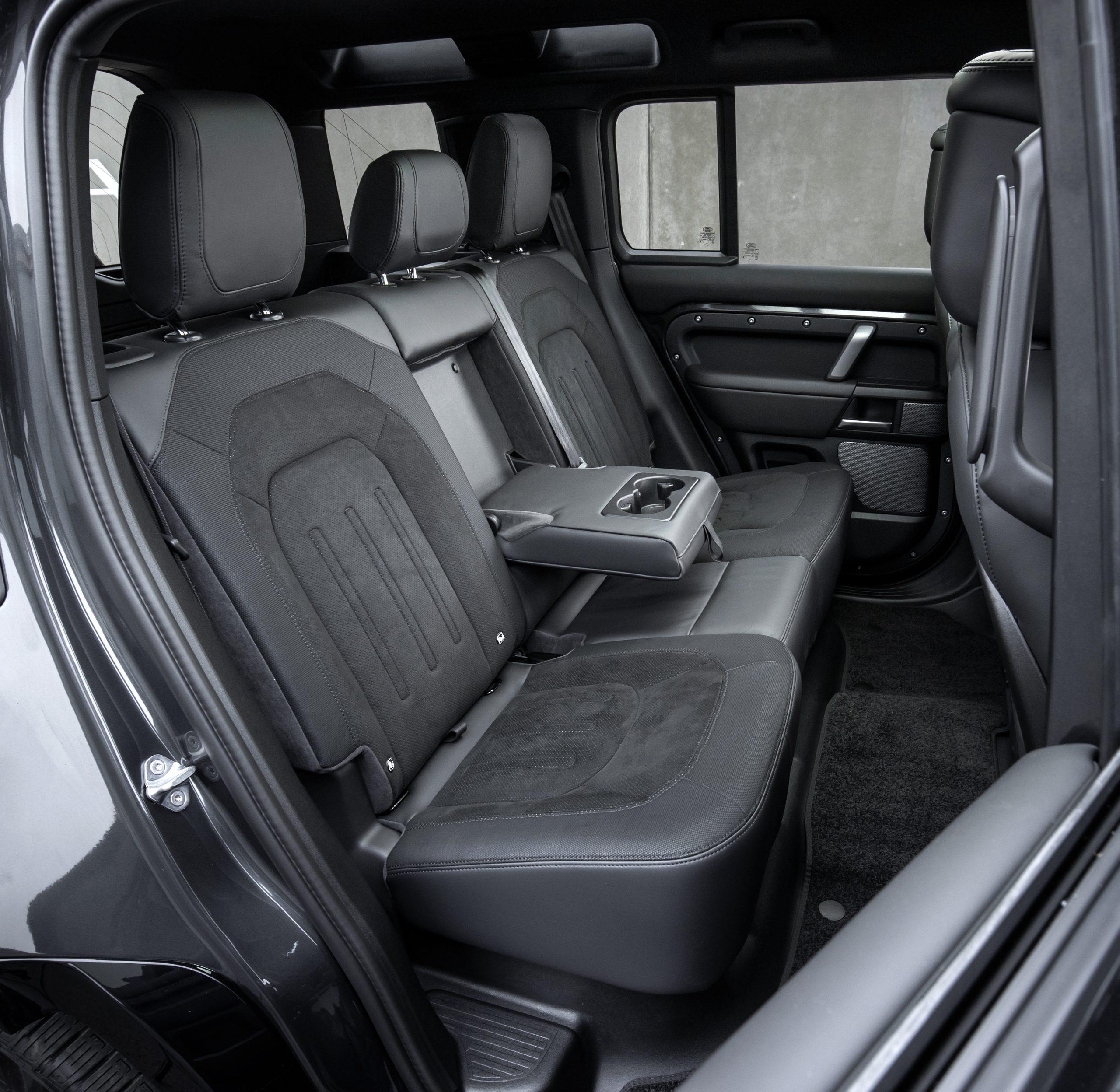 2022 Land Rover Defender back seats
