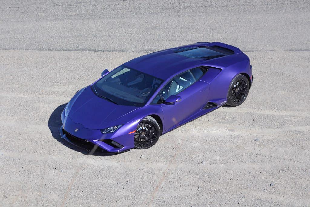 2020 Lamborghini Evo RWD overhead