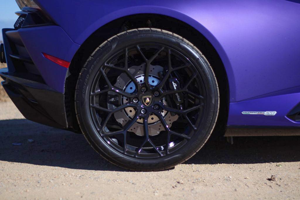 2020 Lamborghini Evo RWD rear wheel brake