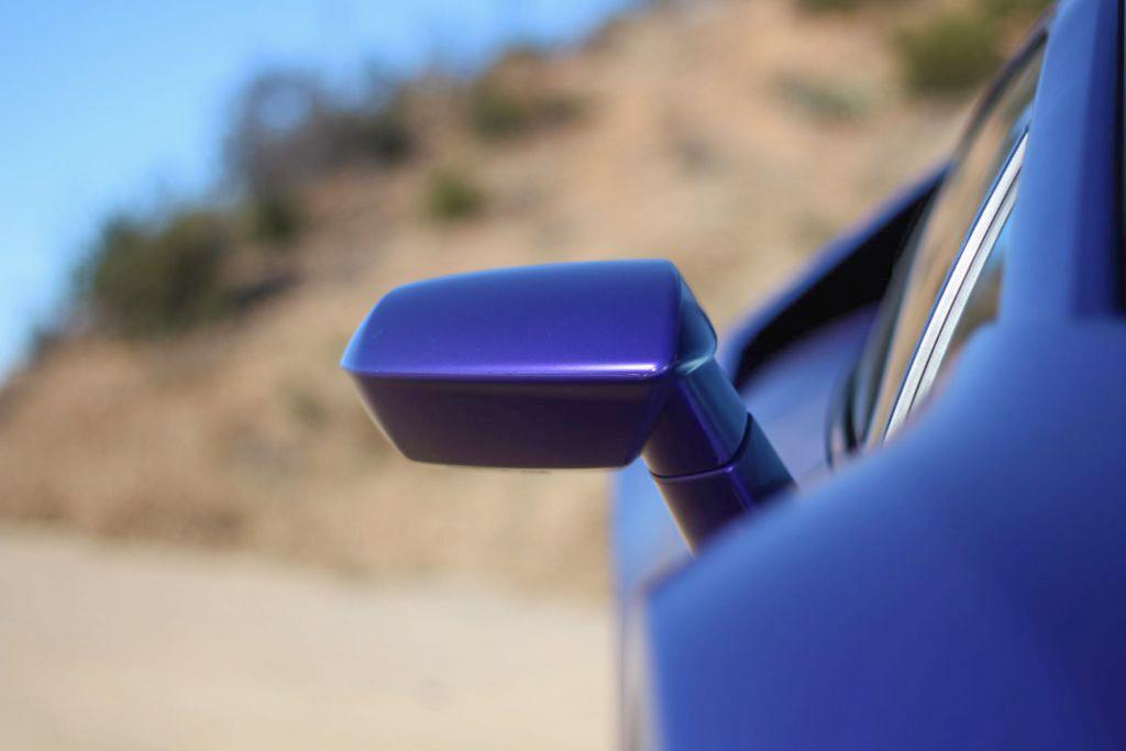 2020 Lamborghini Evo RWD side mirror