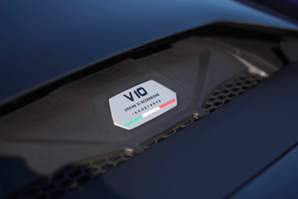 2020 Lamborghini Evo RWD engine