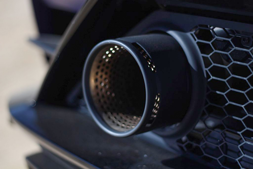 2020 Lamborghini Evo RWD exhaust
