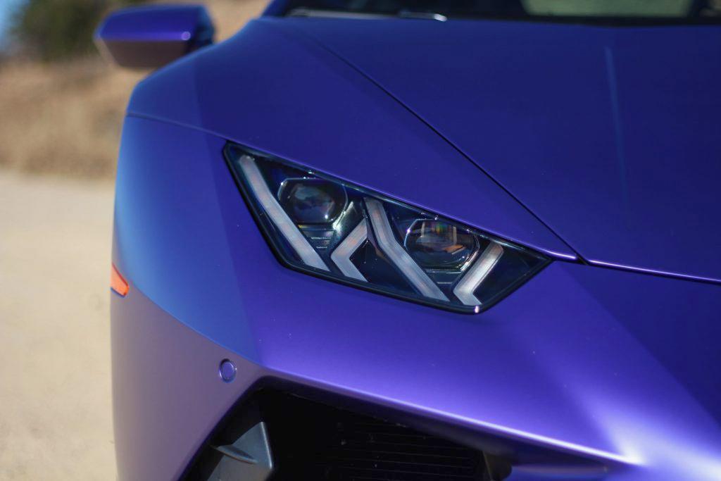 2020 Lamborghini Evo RWD headlight