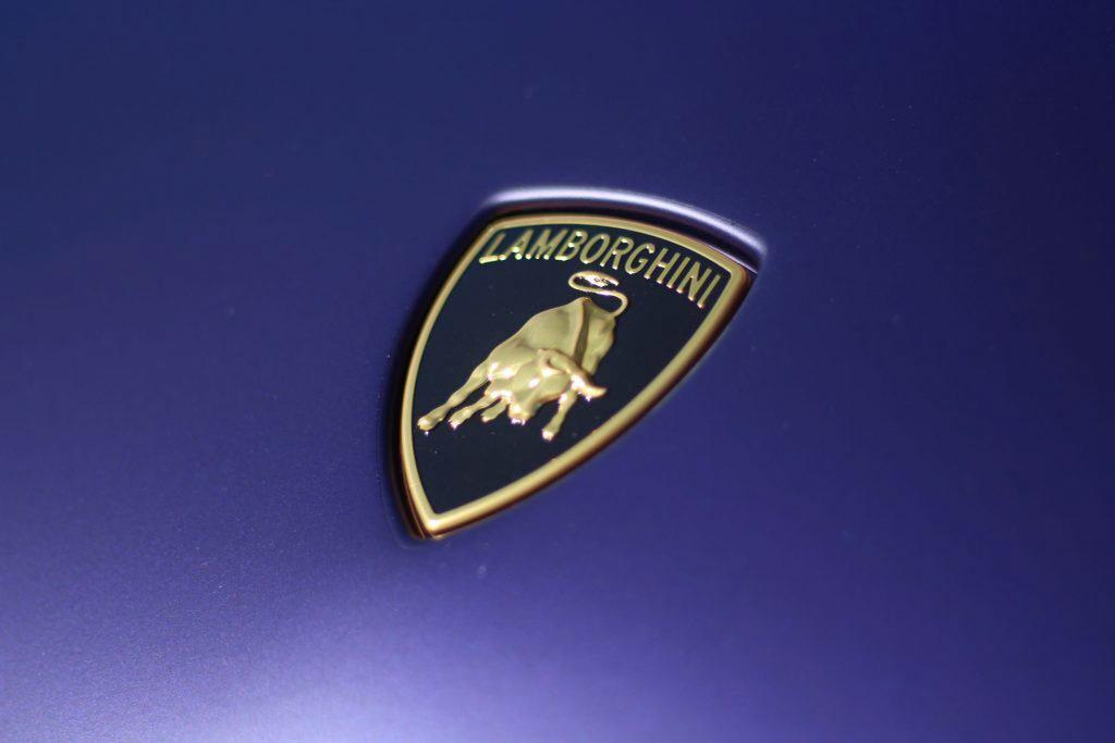 2020 Lamborghini Evo RWD logo prancing bull