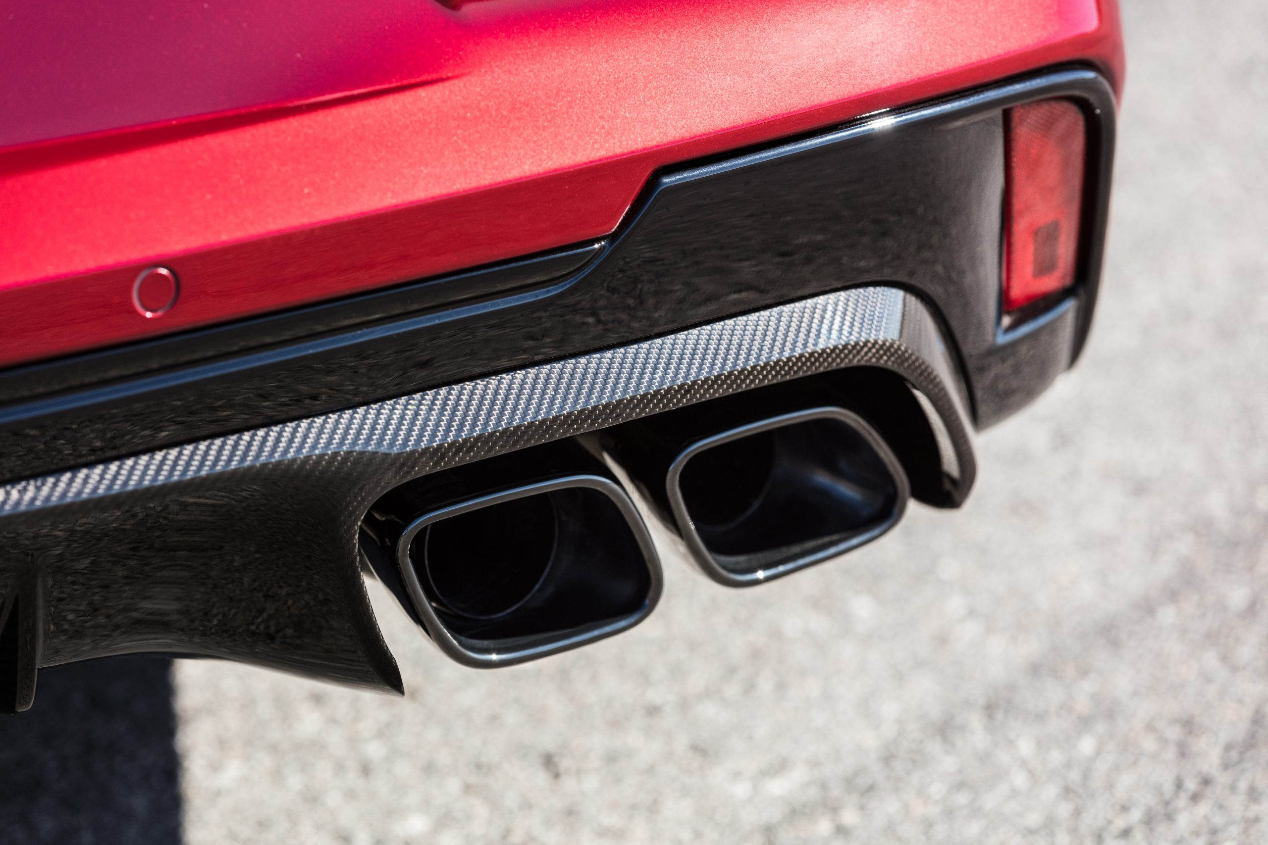 2022 Cadillac CT4-V Blackwing exhaust