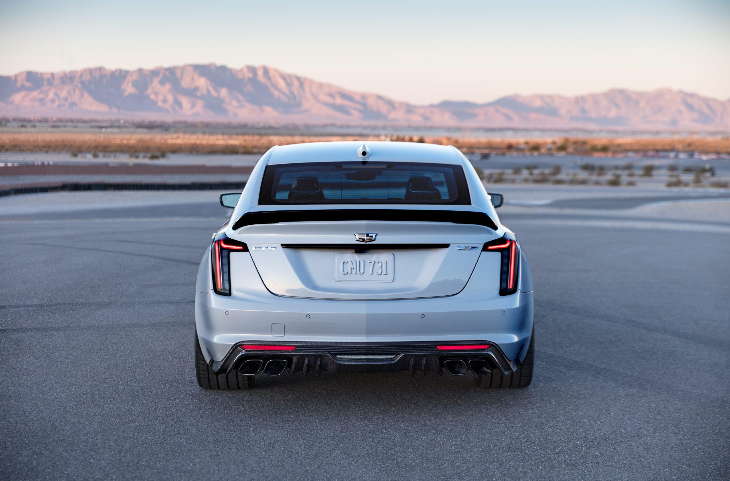 2022 Cadillac CT5-V Blackwing rear