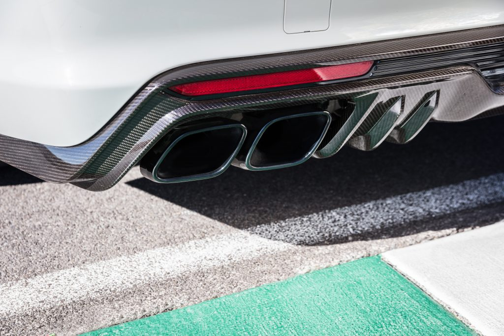 2022 Cadillac CT5-V Blackwing exhaust