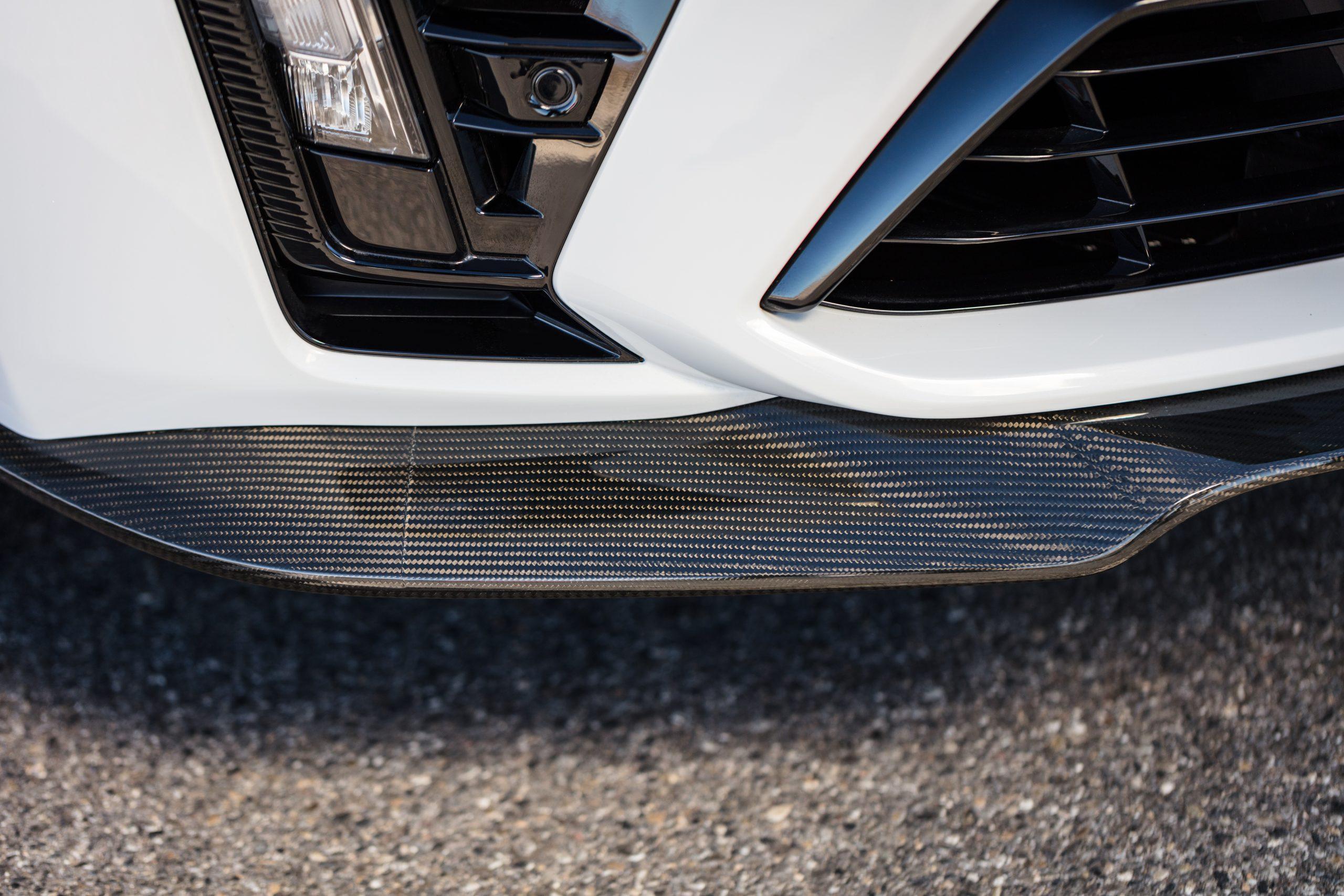2022 Cadillac CT5-V Blackwing front splitter