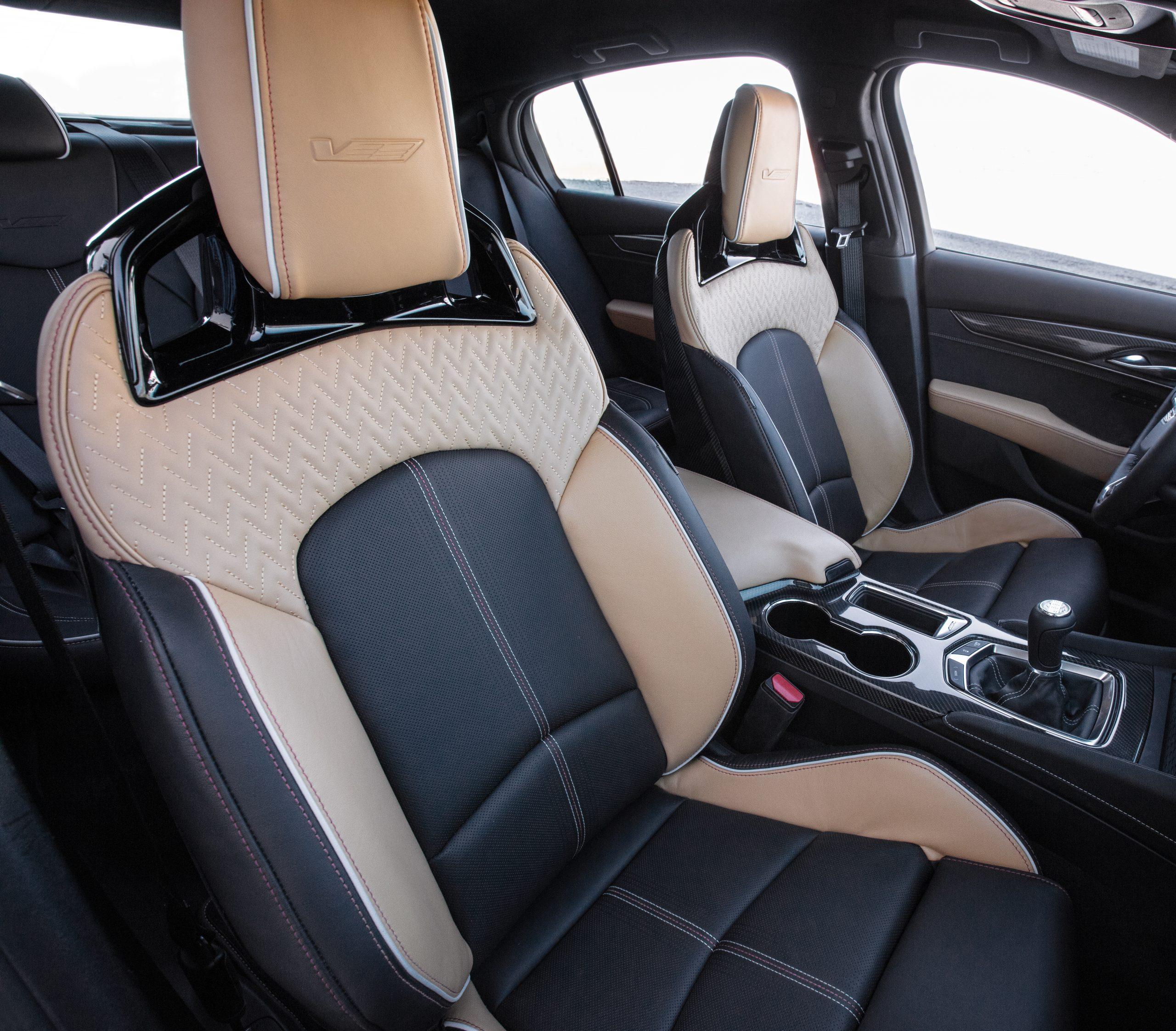 2022 Cadillac CT5-V Blackwing upgraded interior