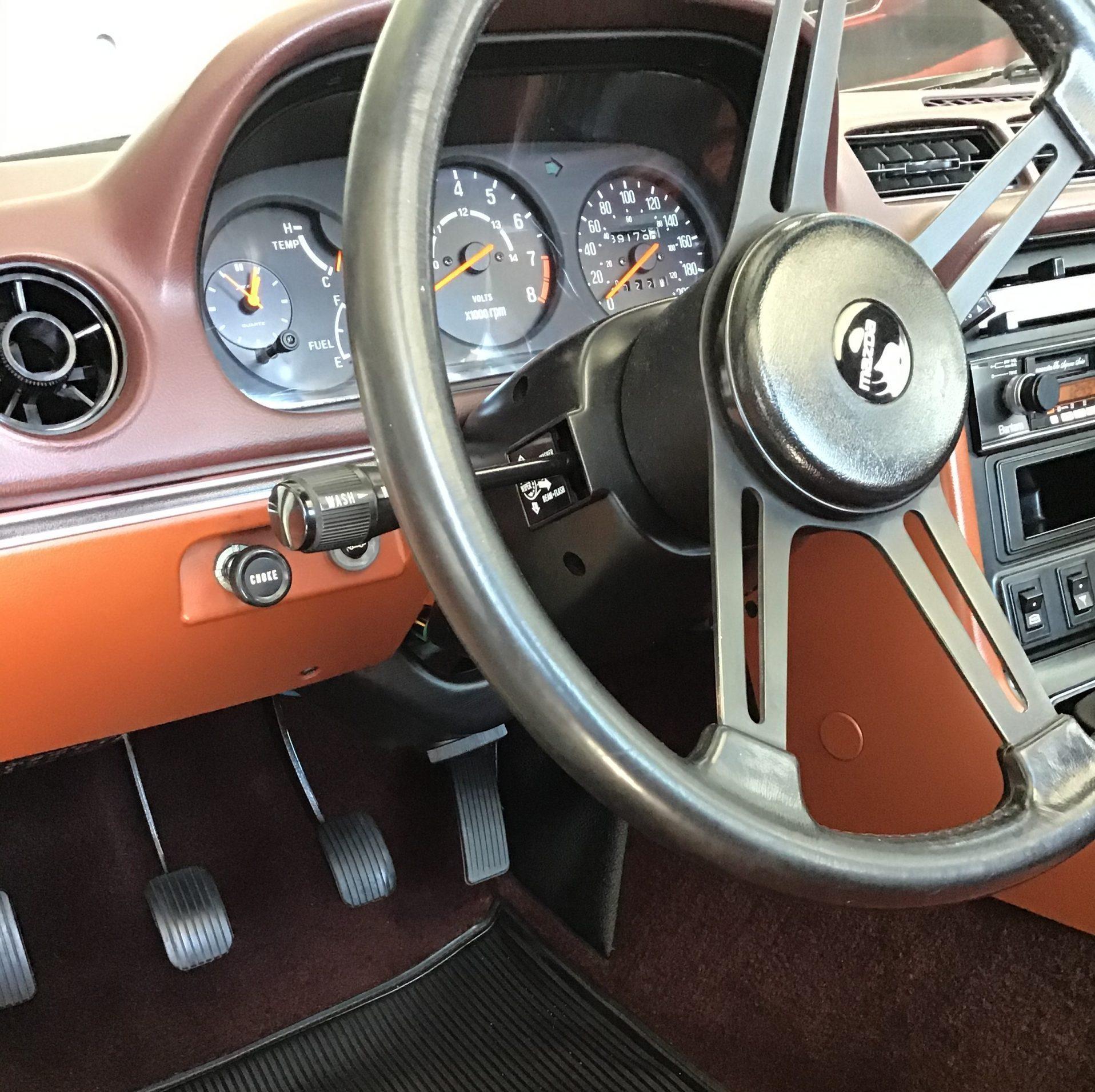 Mazda RX-7 GS interior