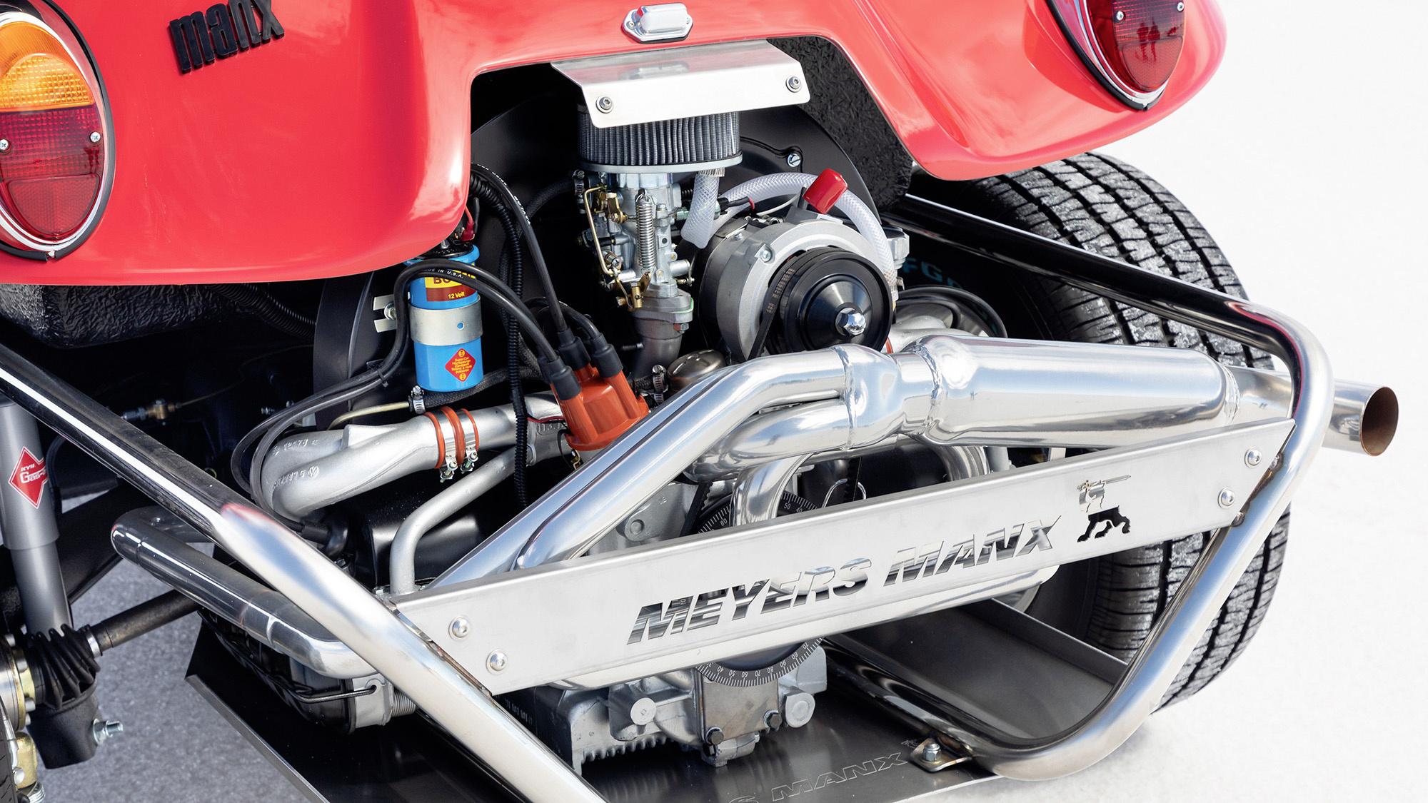 Meyers Manx Fiberglass Dune Buggy rear engine