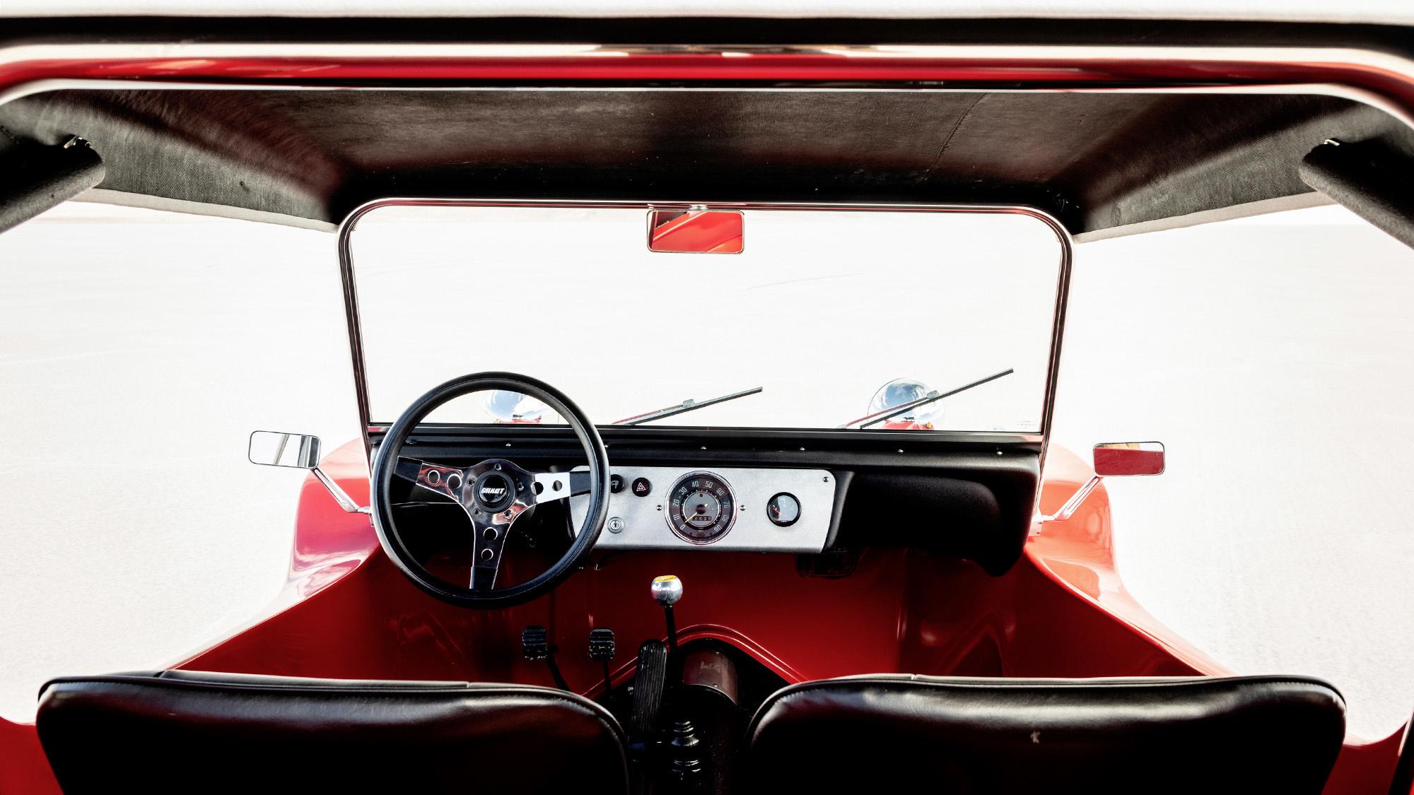 Meyers Manx Fiberglass Dune Buggy interior