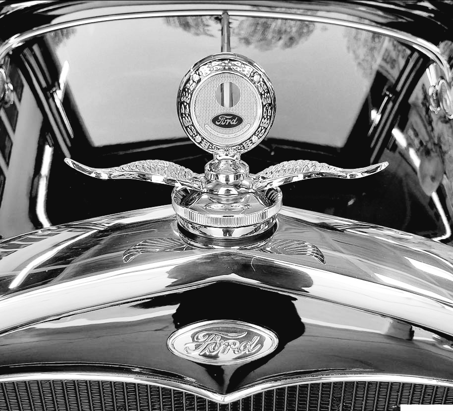 1931 Ford Tudor Model A hot rod motometer