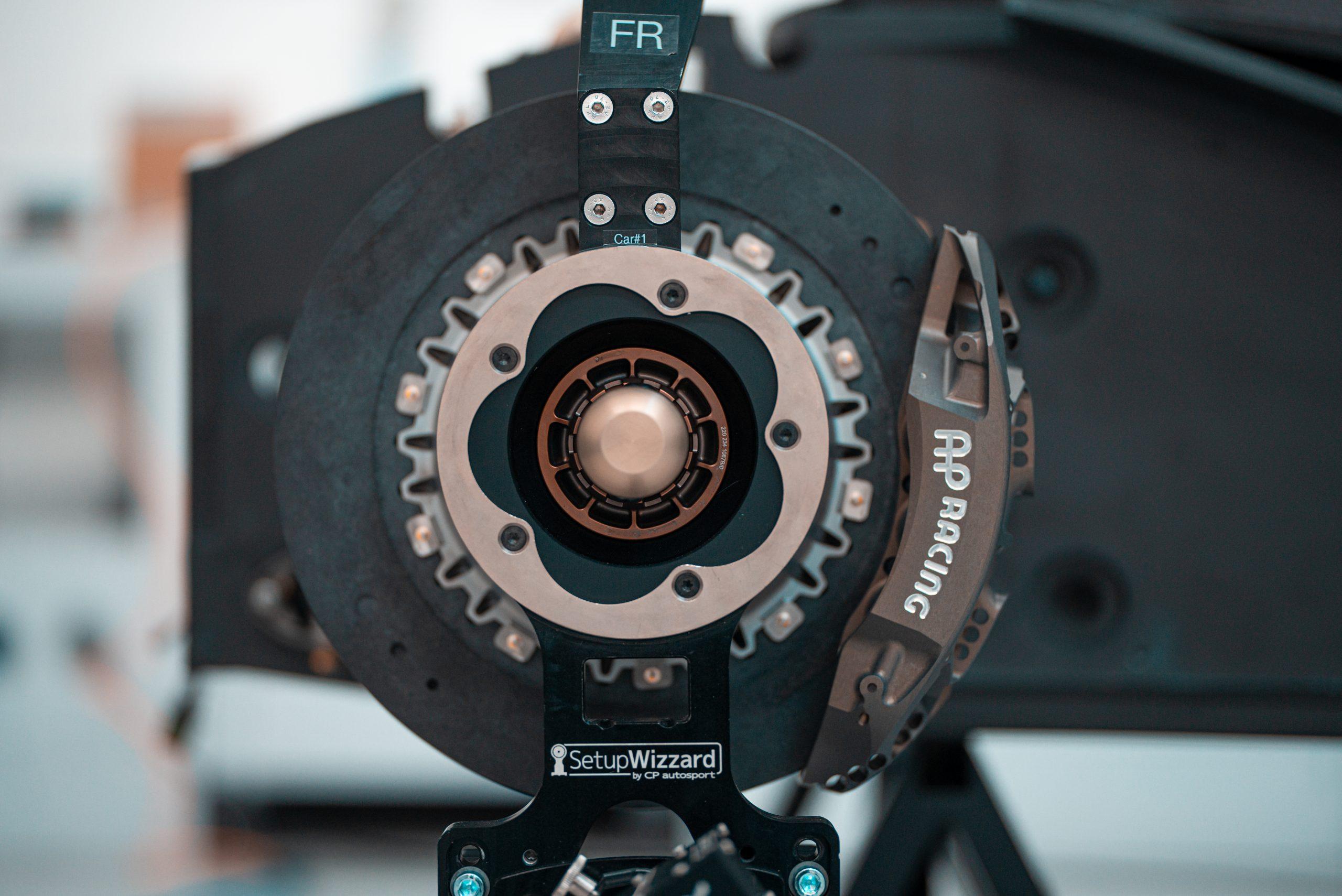 SCG Scuderia Cameron Glickenhaus 007 Hypercar LMH brake assembly