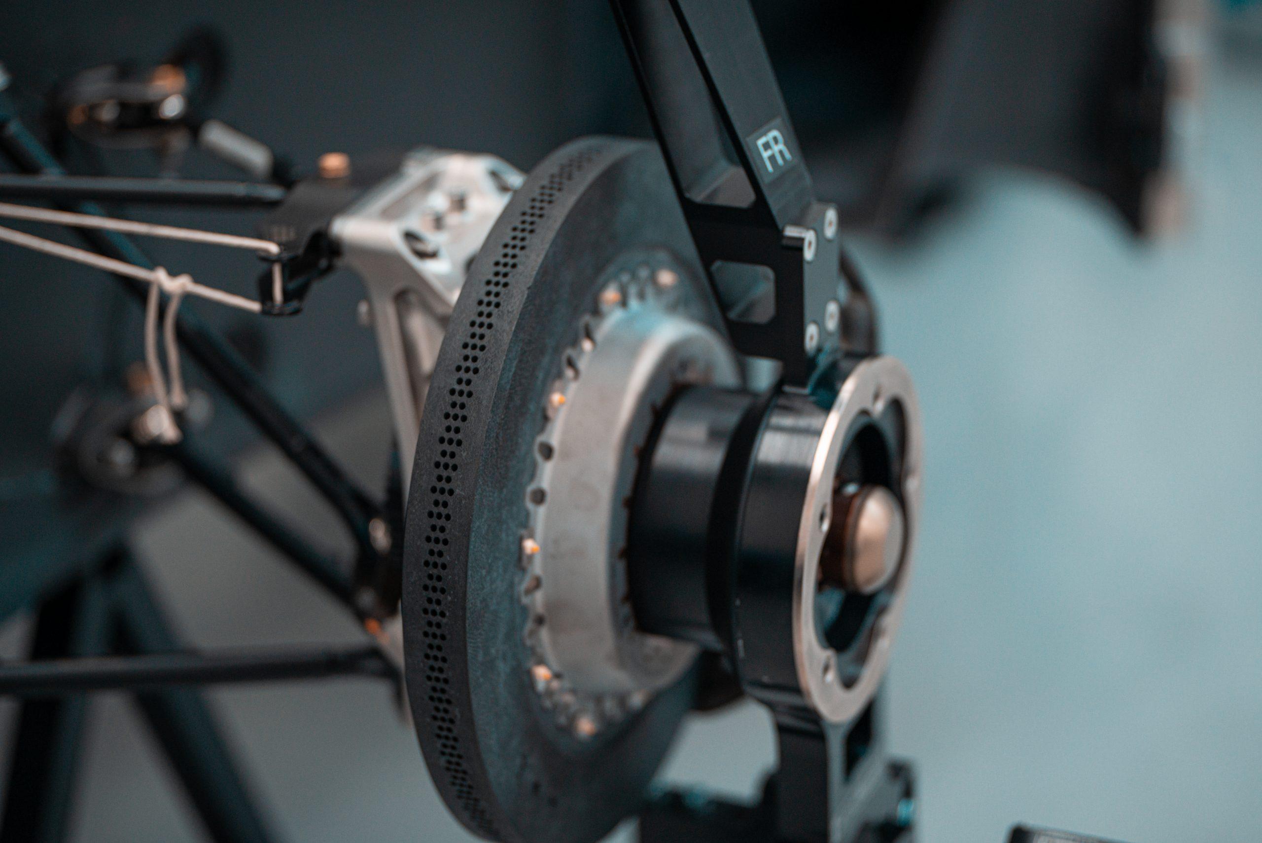 SCG Scuderia Cameron Glickenhaus 007 Hypercar LMH brake rotor