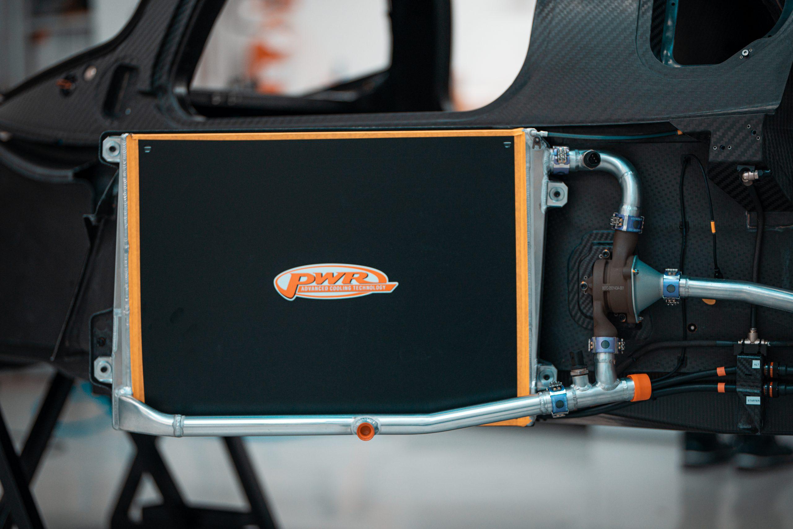 SCG Scuderia Cameron Glickenhaus 007 Hypercar LMH radiator