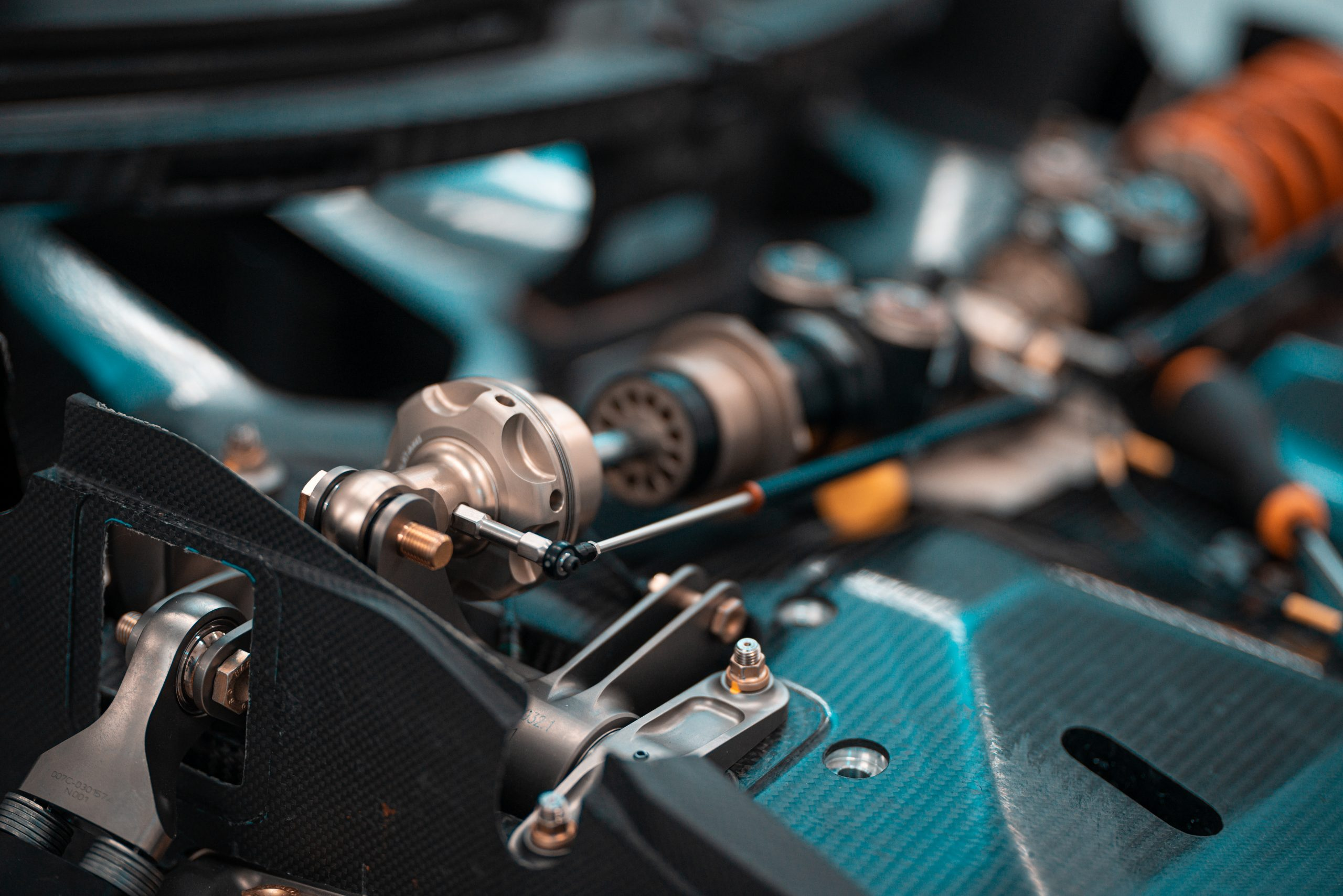 SCG Scuderia Cameron Glickenhaus 007 Hypercar LMH linkage