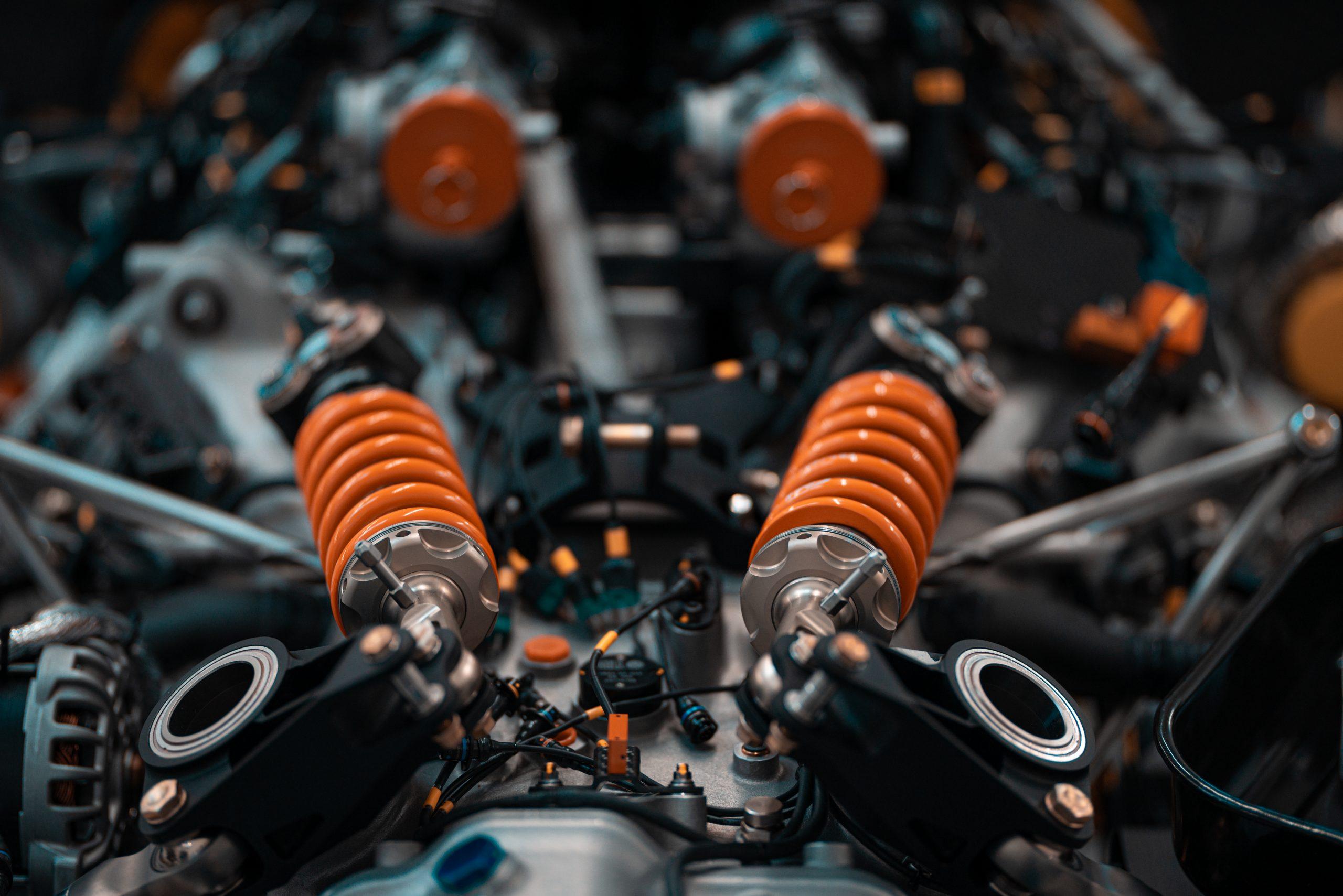 SCG Scuderia Cameron Glickenhaus 007 Hypercar LMH springs engine