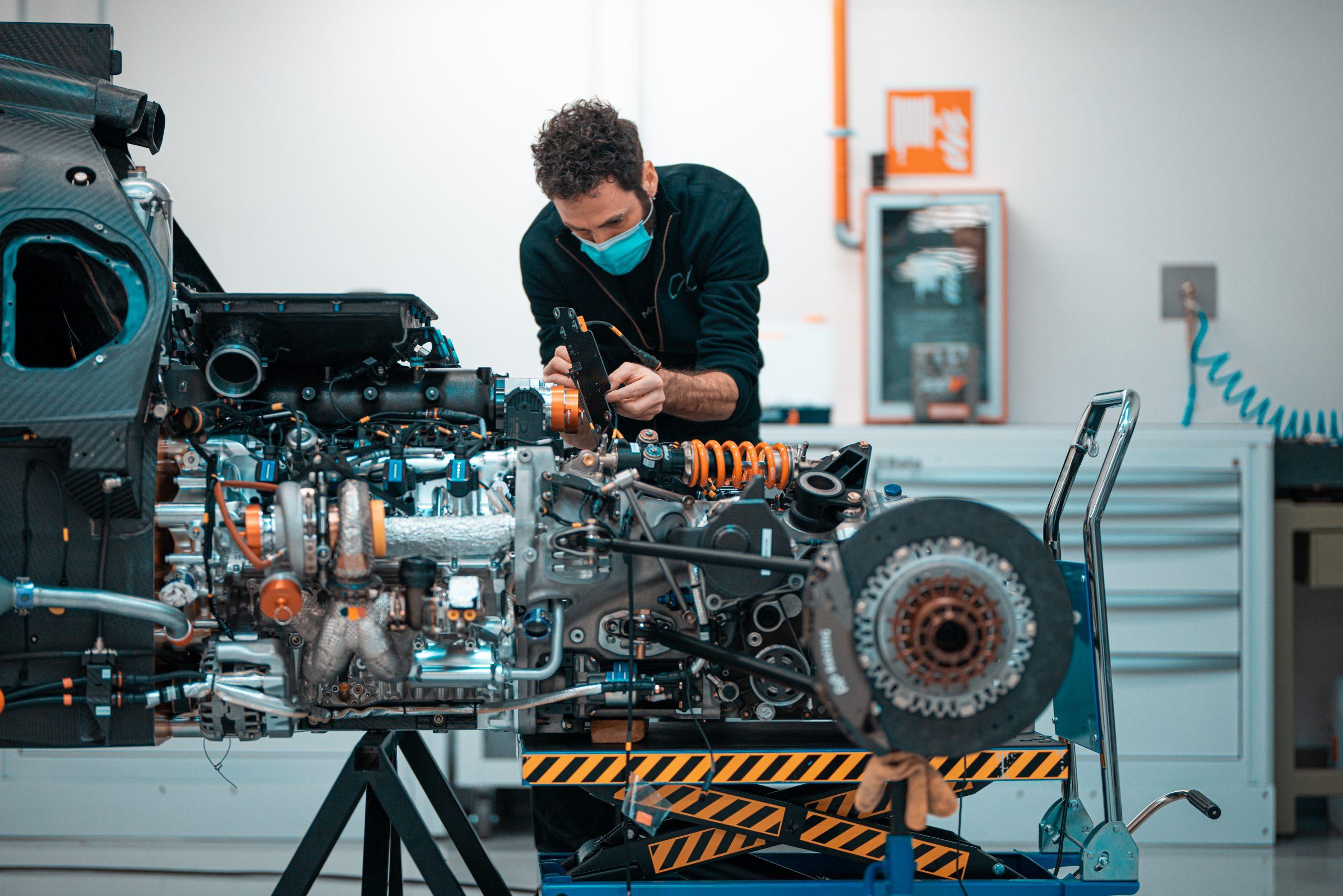 SCG Scuderia Cameron Glickenhaus 007 Hypercar LMH engine build