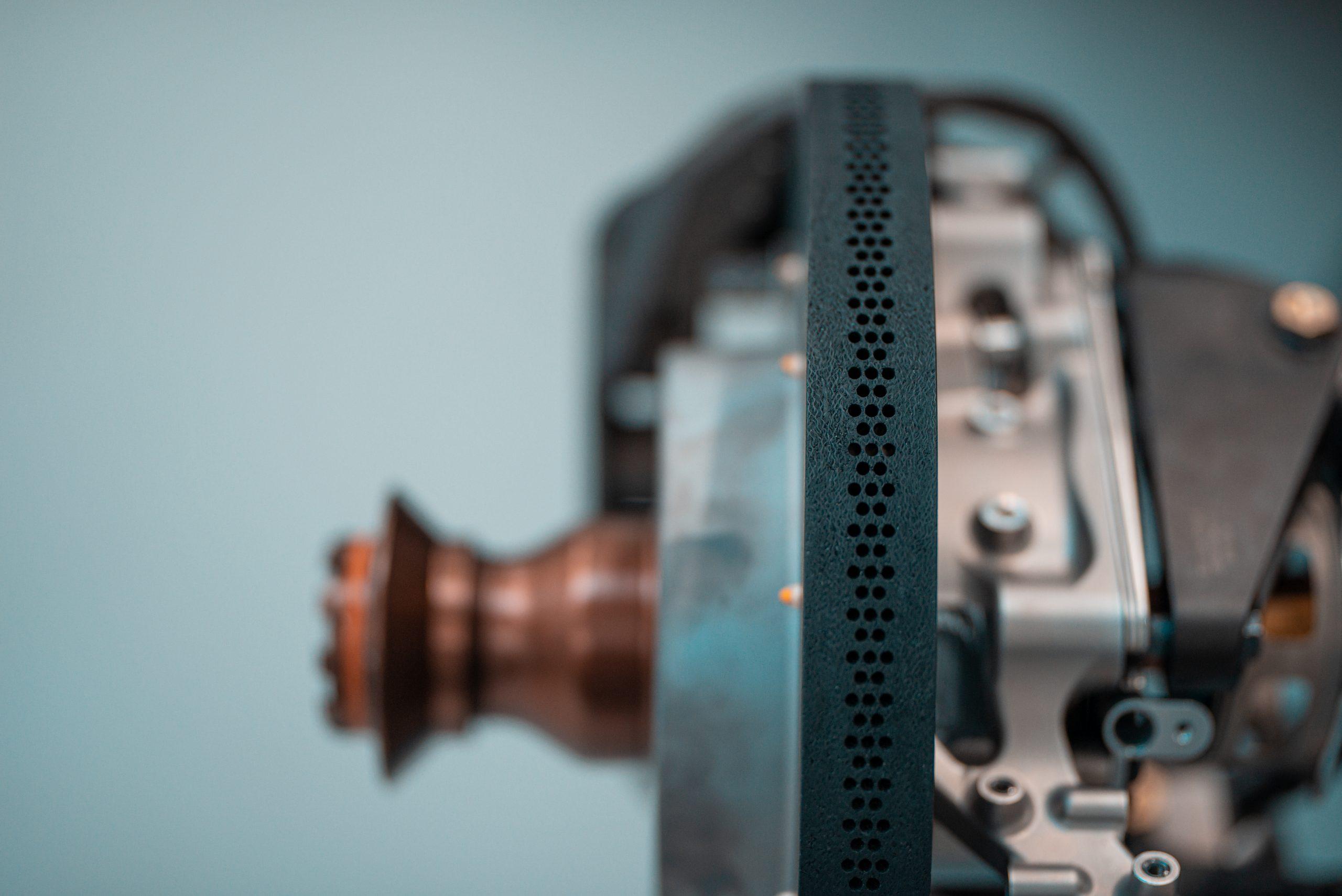 Glickenhaus 007 Hypercar LMH brake rotor detail