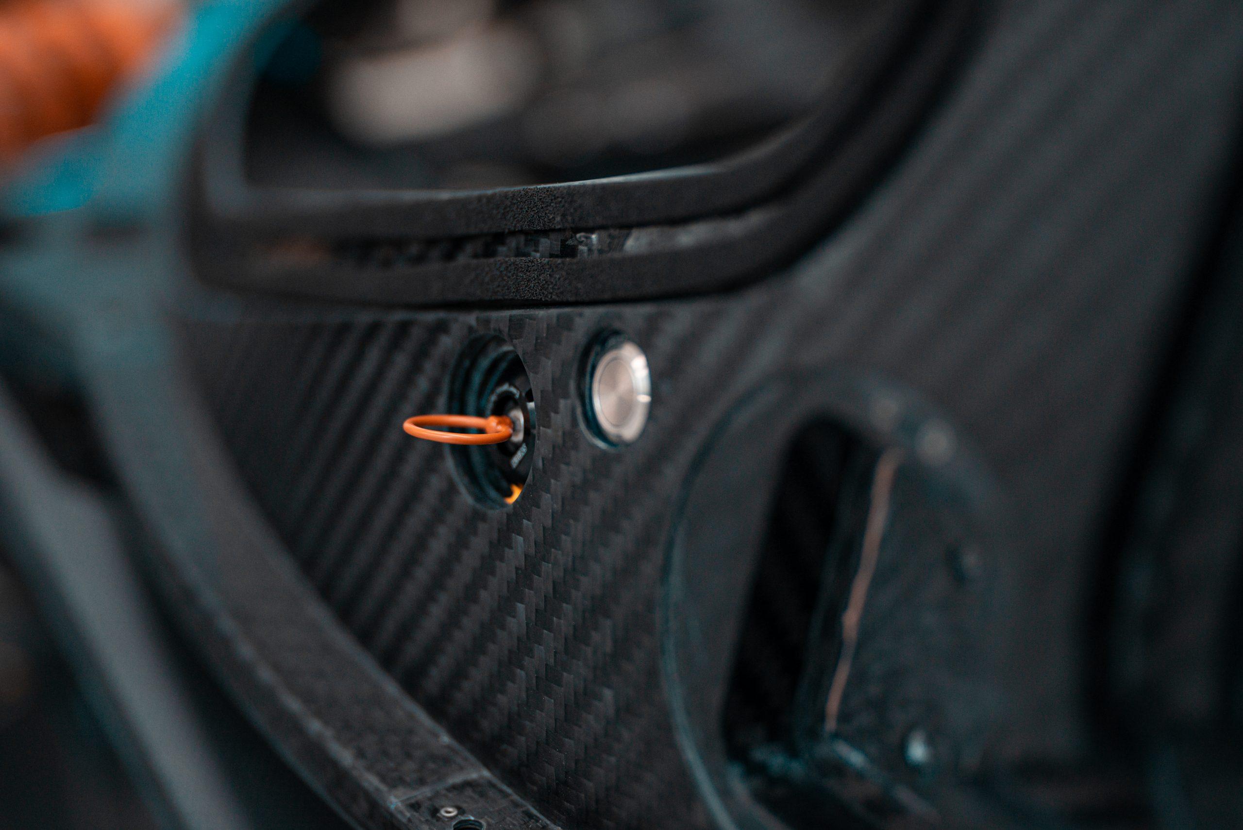 Glickenhaus 007 Hypercar LMH carbon fiber monocoque detail