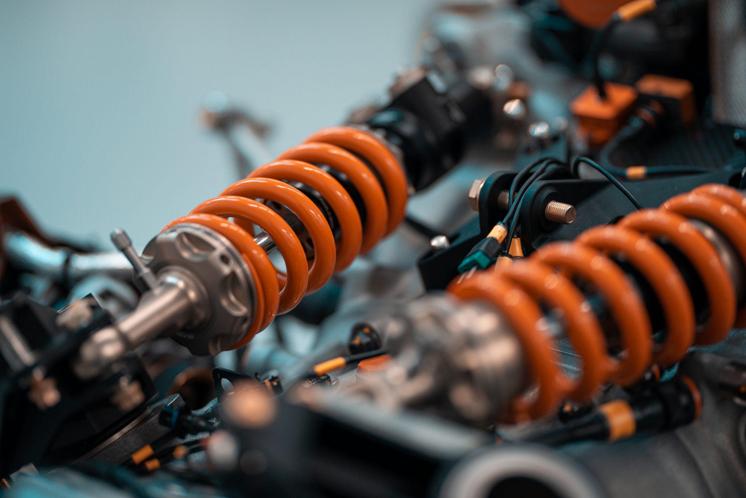 Glickenhaus 007 Hypercar LMH detail coil
