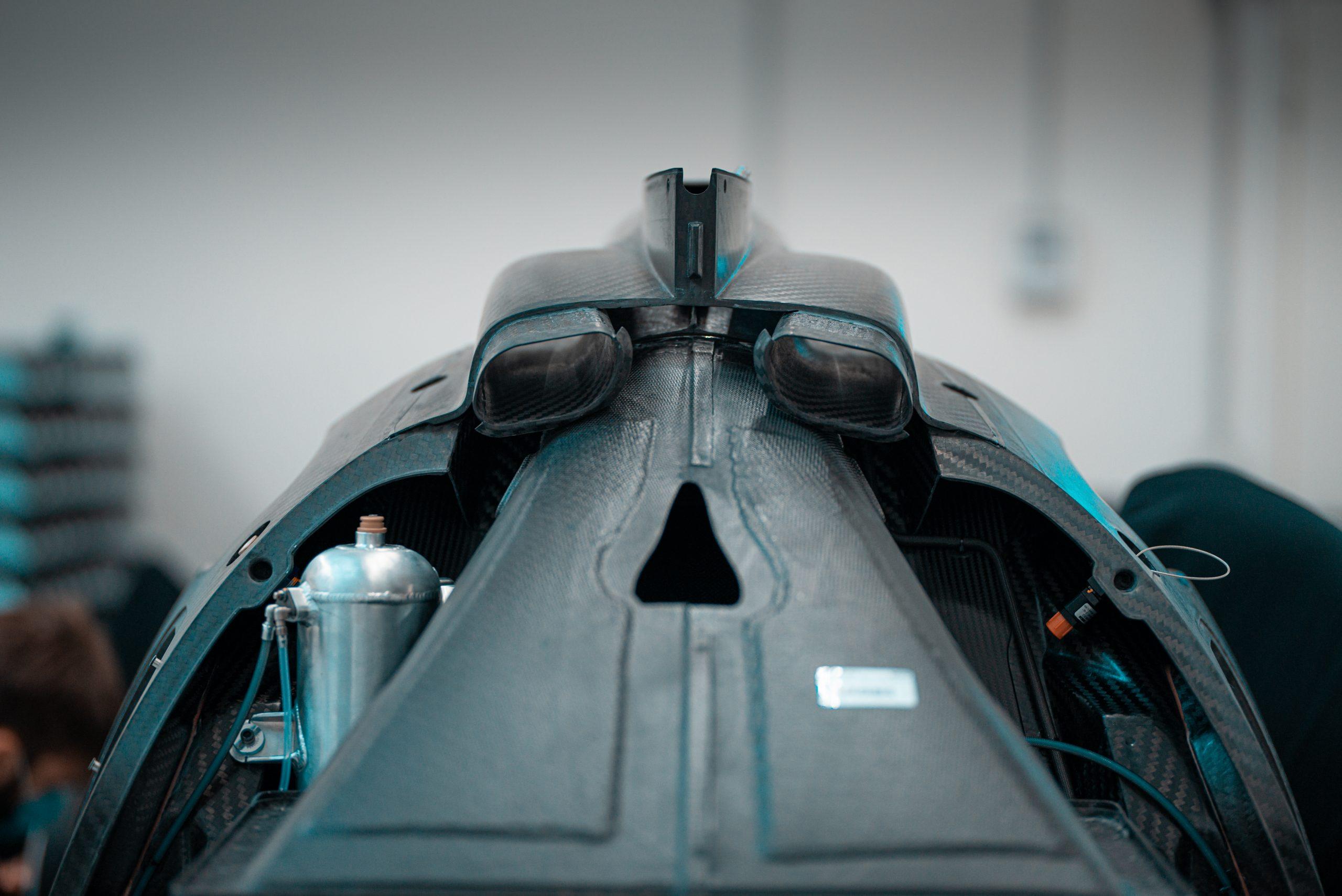 Glickenhaus 007 Hypercar LMH monocoque carbon fiber aero