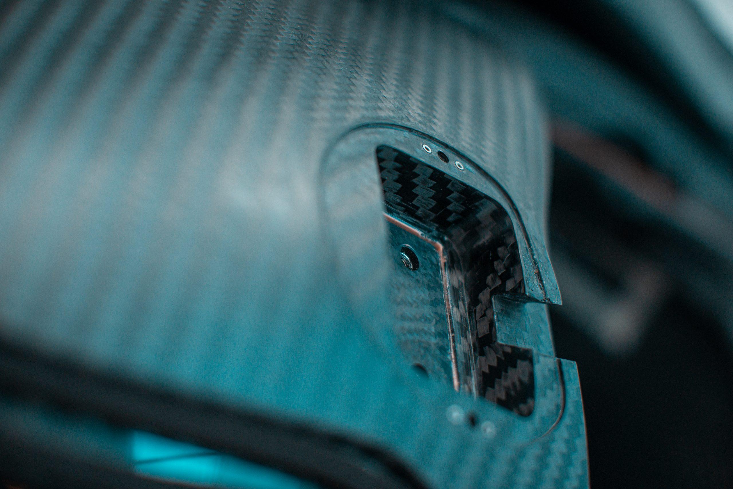 Glickenhaus 007 Hypercar LMH carbon fiber weave