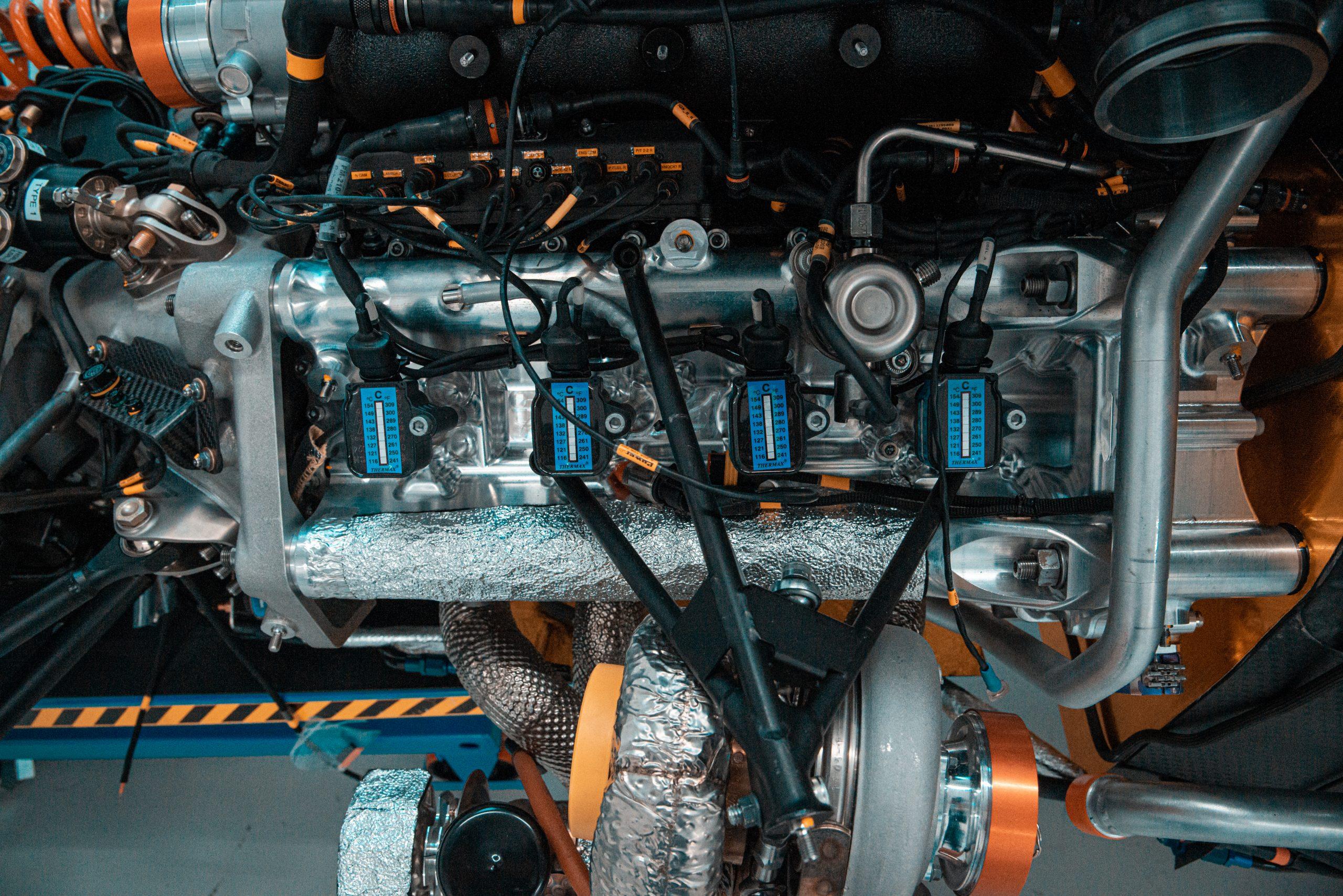 Glickenhaus 007 Hypercar LMH building engine