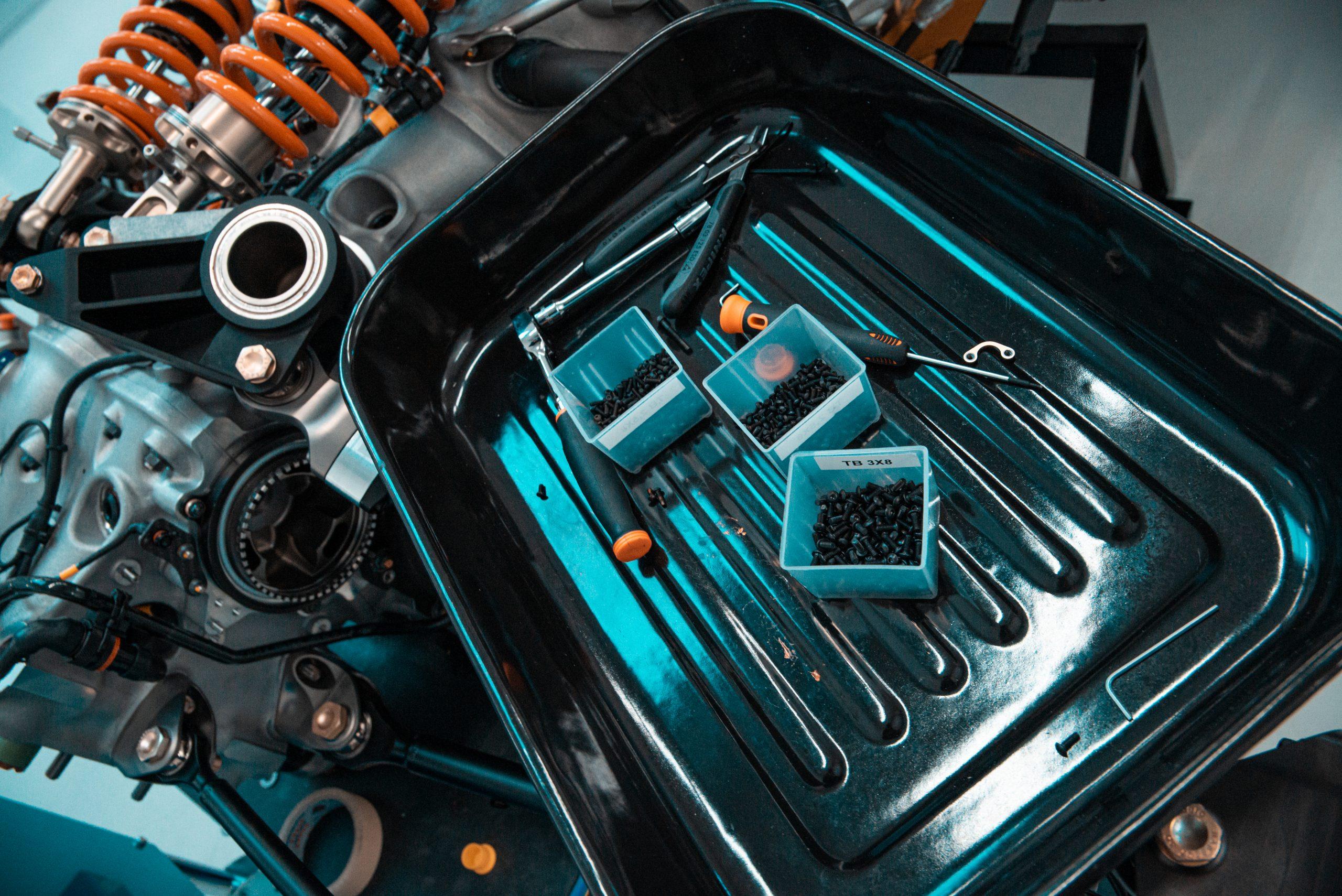 Glickenhaus 007 Hypercar LMH tools engine race shop