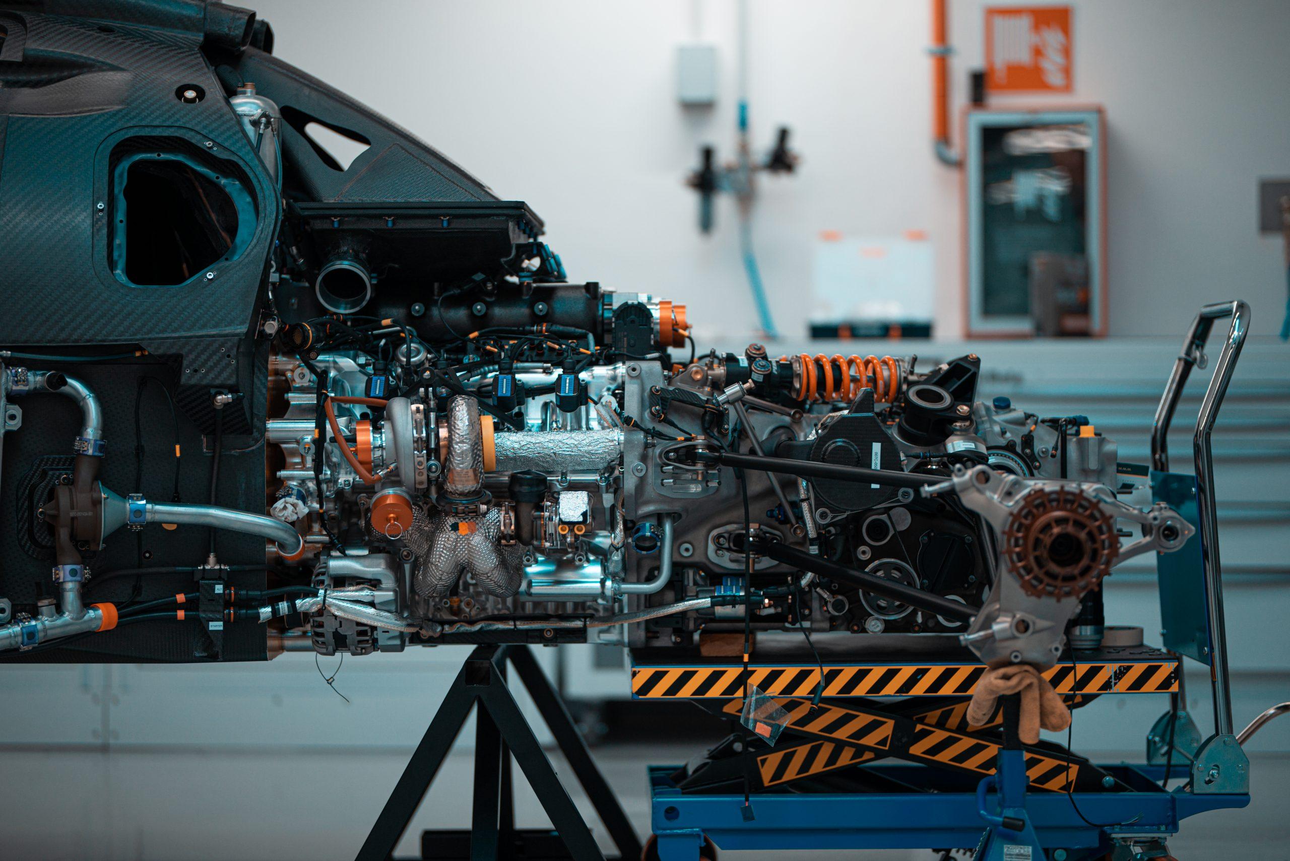 Glickenhaus 007 Hypercar LMH engine