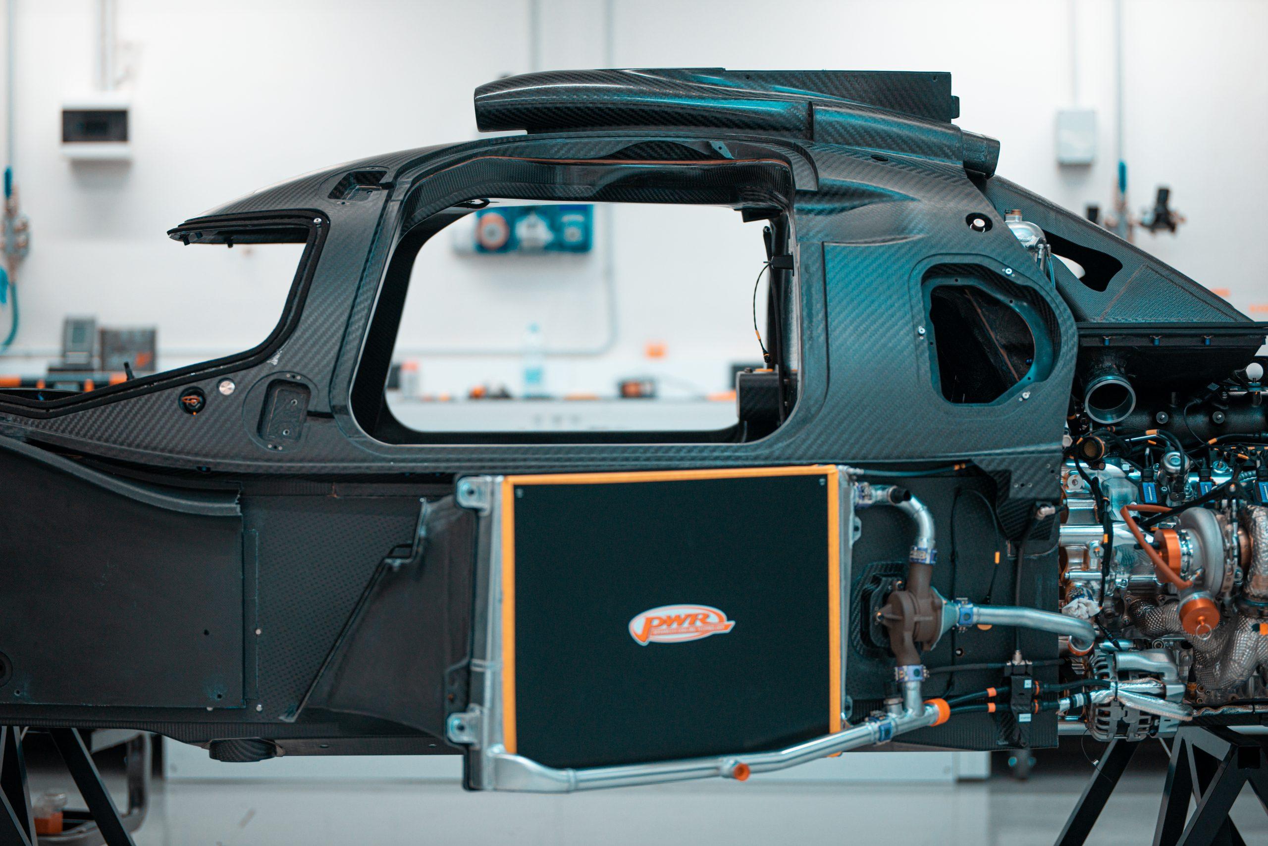 Glickenhaus 007 Hypercar LMH monocoque