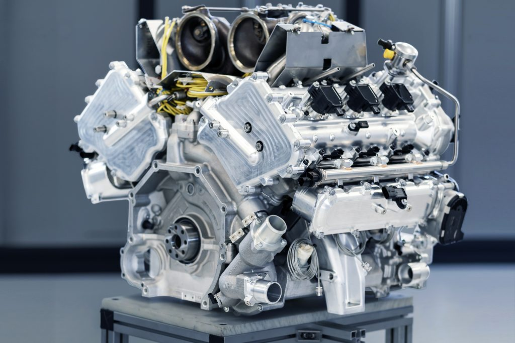 Aston Martin Valhalla engine