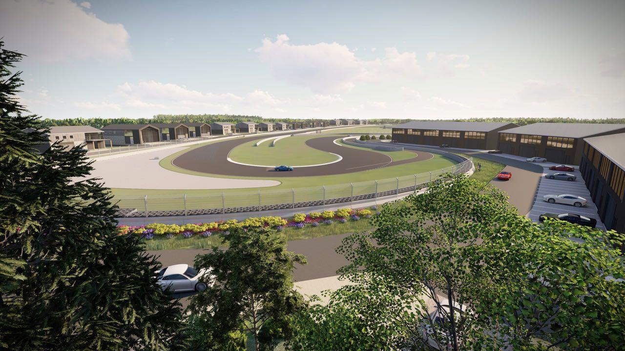 Oro Station render garages