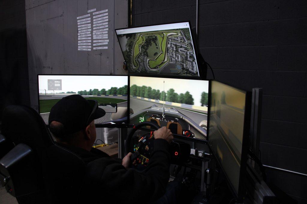 Oro Station racing simulator driving