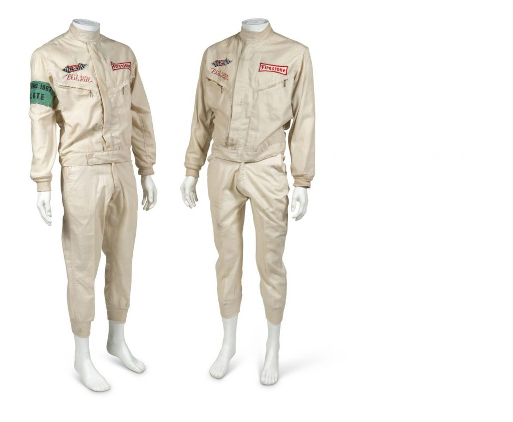 phil hill racing suit