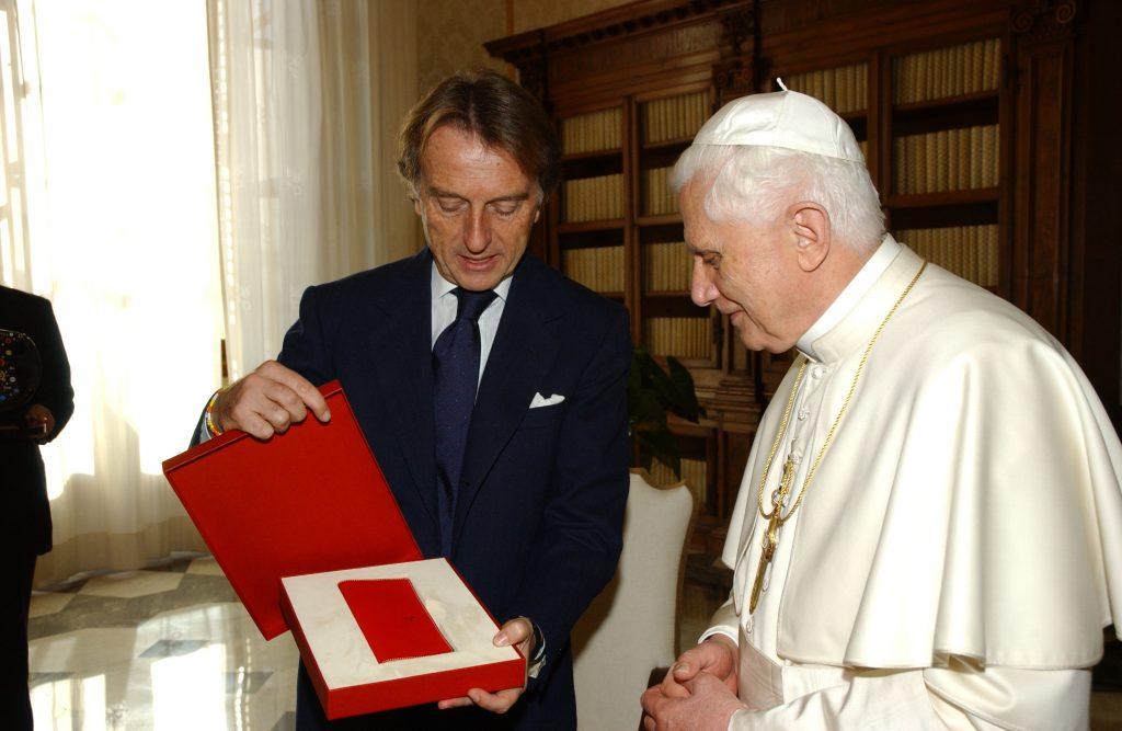 400th Enzo Ferrari Gift to Pope